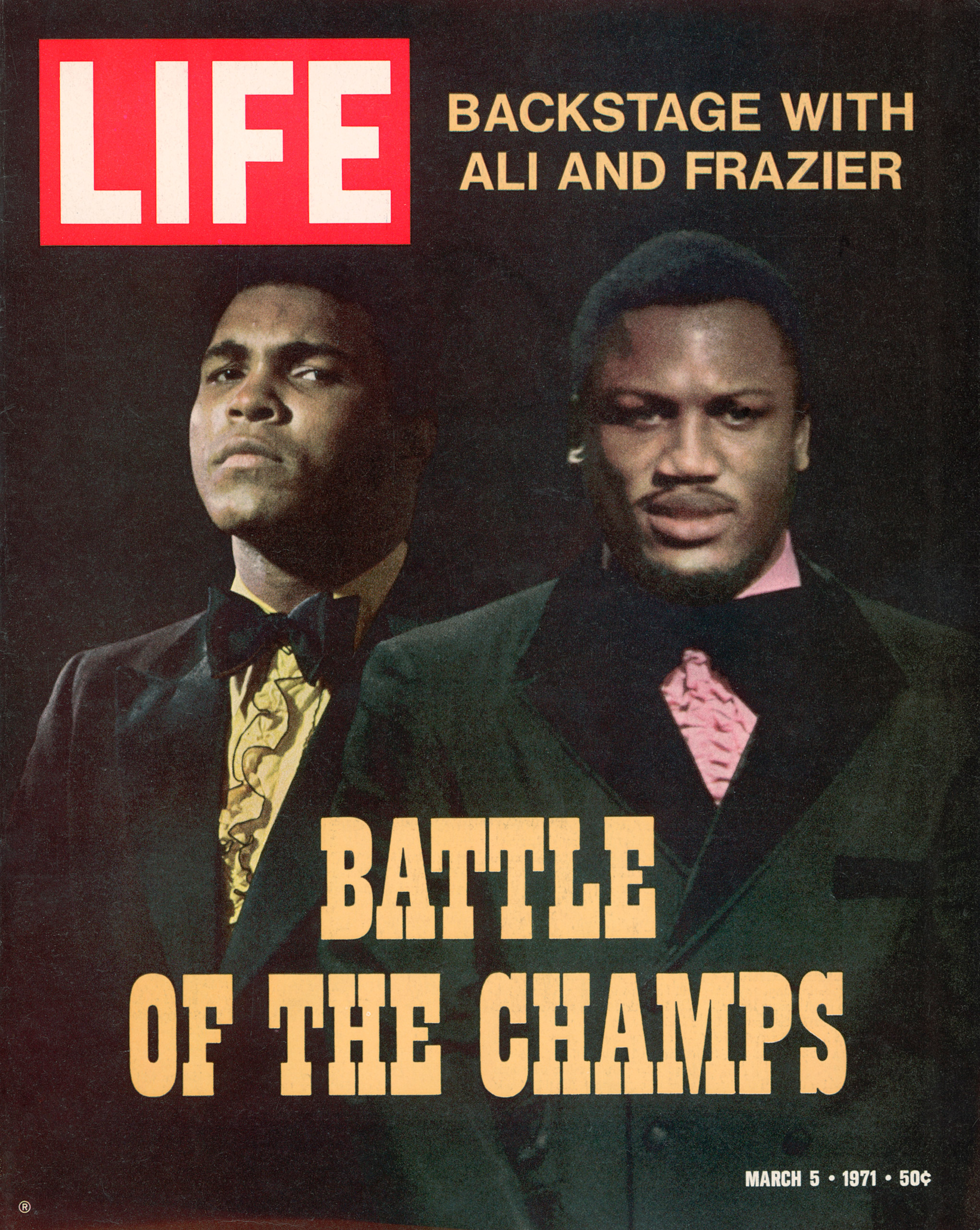 Muhammad Ali and Joe Frazier LIFE cover.