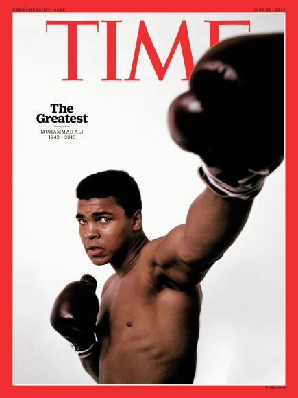 muhammad ali TIME cover
