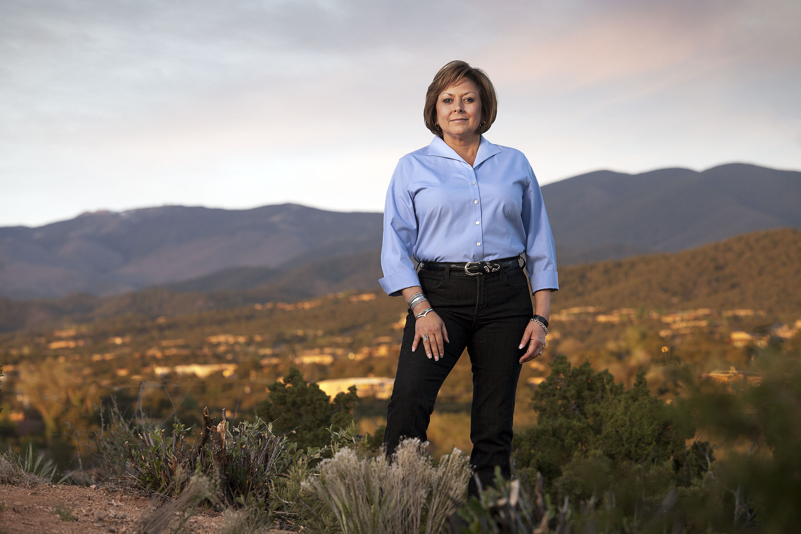 """Martinez, the first Latina U.S. governor, made headlines in May when she refused to be """"bullied"""" into supporting Donald Trump"""