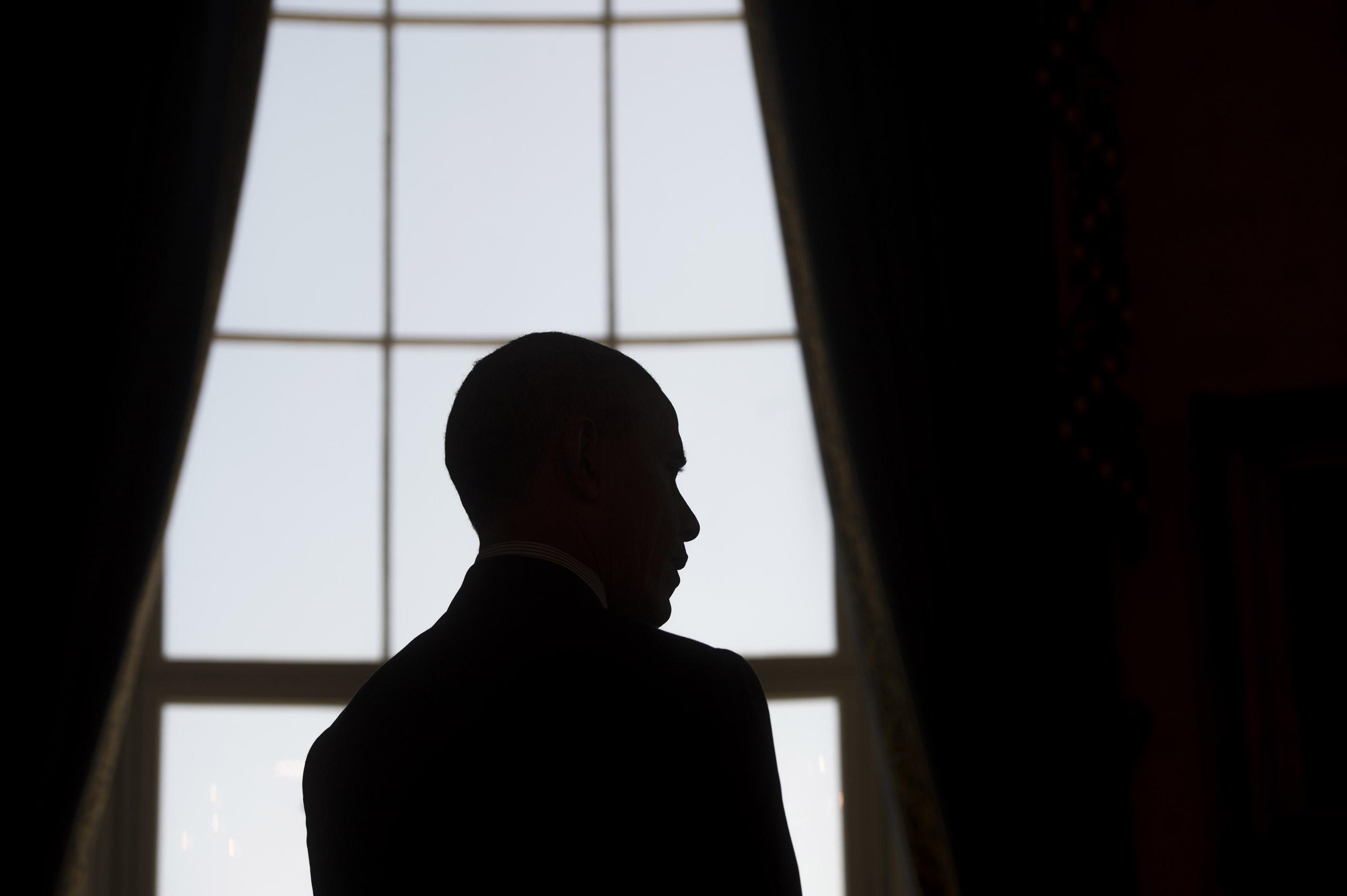 President Barack Obama at the White House in Washington on April 13, 2016.