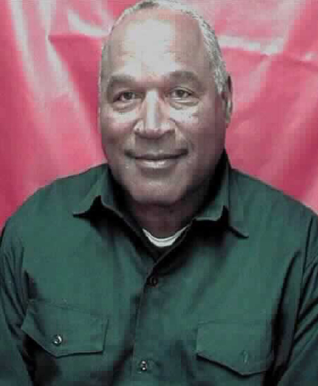 This photo provided by the Nevada Department of Corrections shows O.J. Simpson. He is serving a sentence of nine to 33 years in a Nevada prison for a 2007 armed robbery and kidnapping conviction. He is eligible for parole next year.