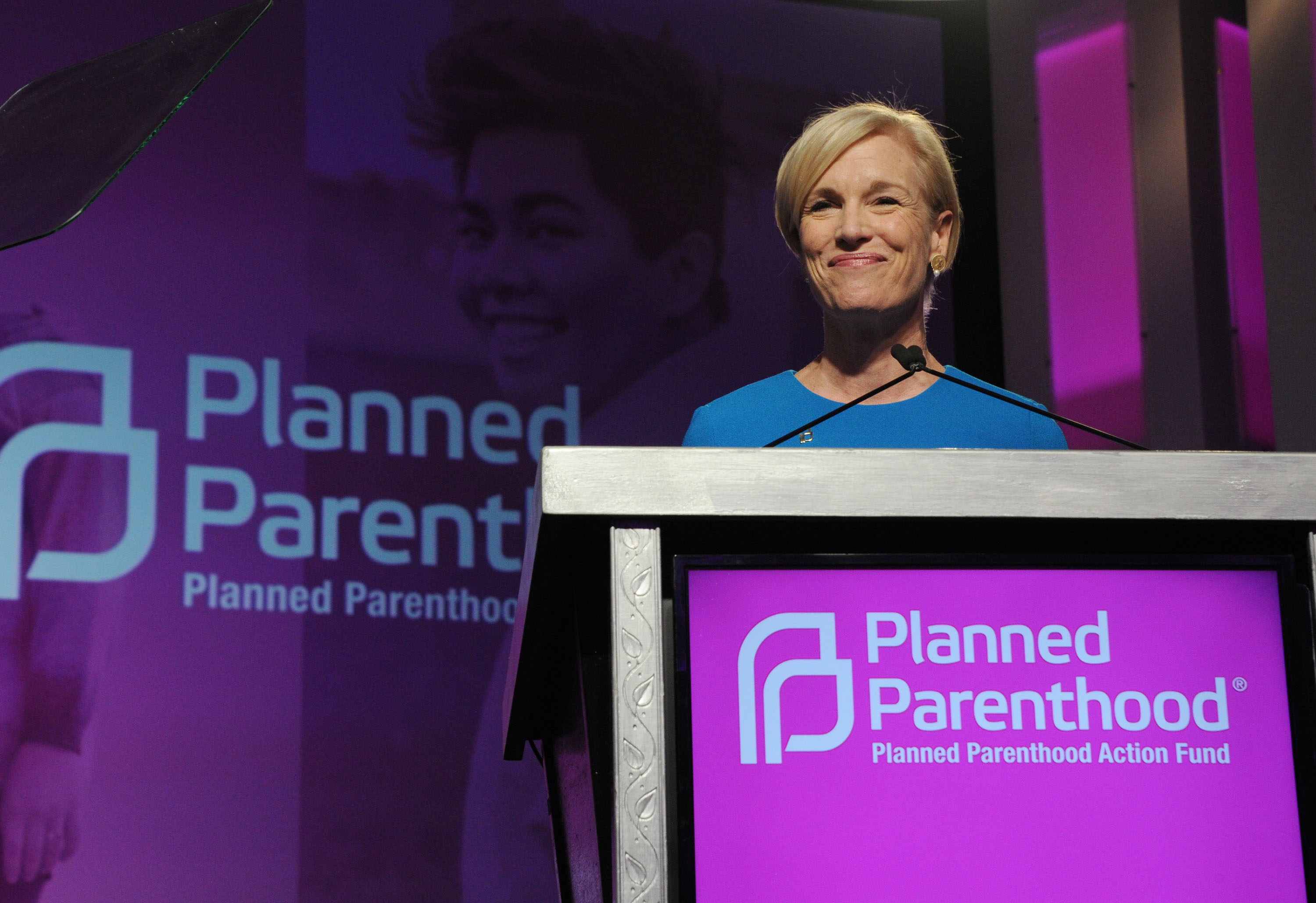 President and CEO Planned Parenthood Cecile Richards onstage at the 2016 Planned Parenthood Action Fund Membership Event held during the Planned Parenthood National Convention at Washington Hilton on June 10, 2016 in Washington, DC.