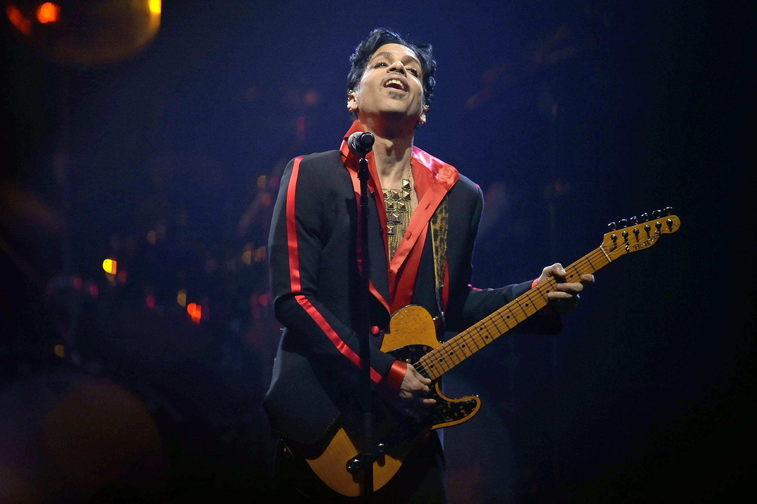 Prince, during his concert at the Sportpaleis in Antwerp, Belgium, Nov. 8, 2010. Correction: The original version of this caption misstated the date of a Prince concert. It was Nov. 8, 2010.