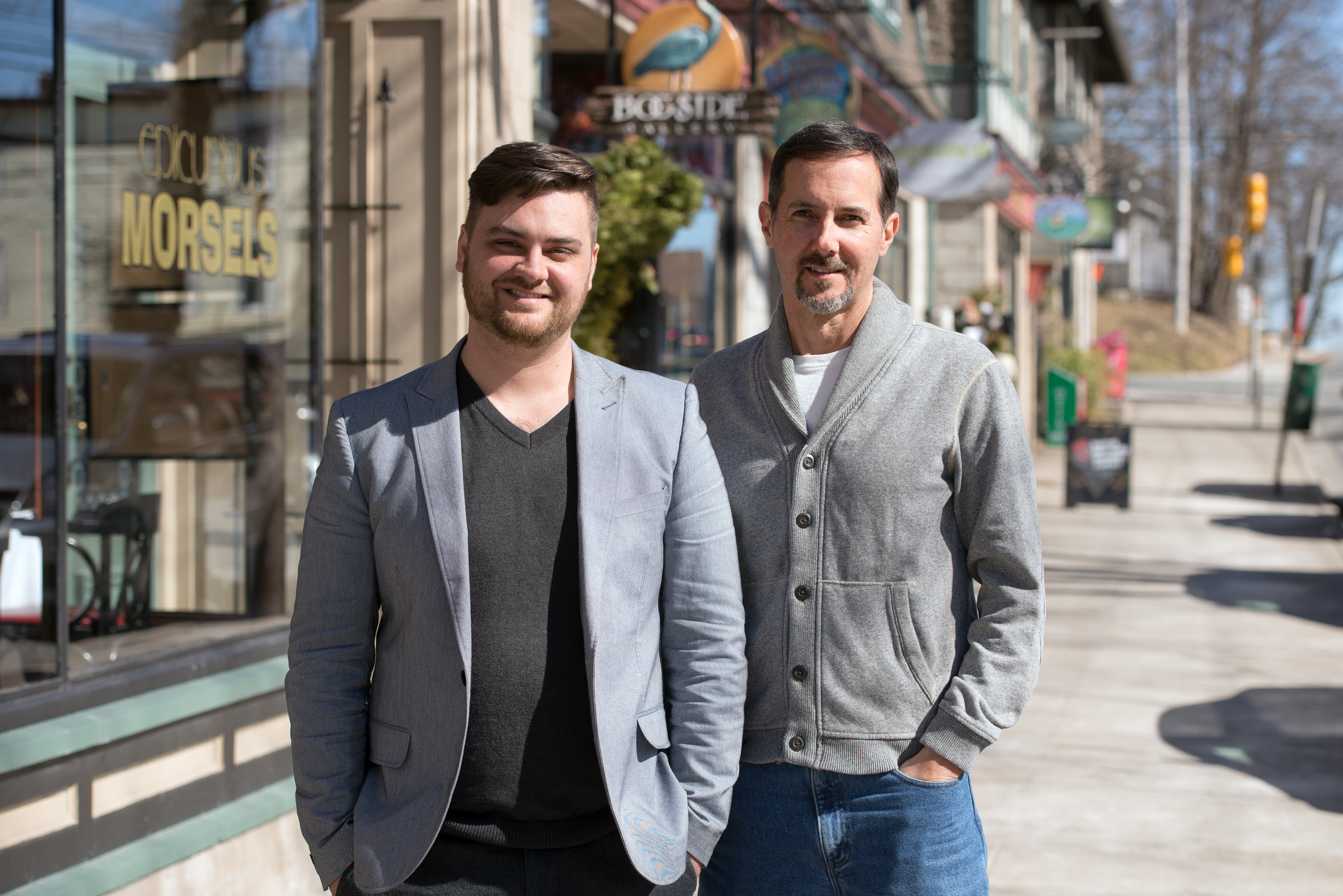 Kyle Racki, Proposify CEO and Kevin Springer, Proposify COO