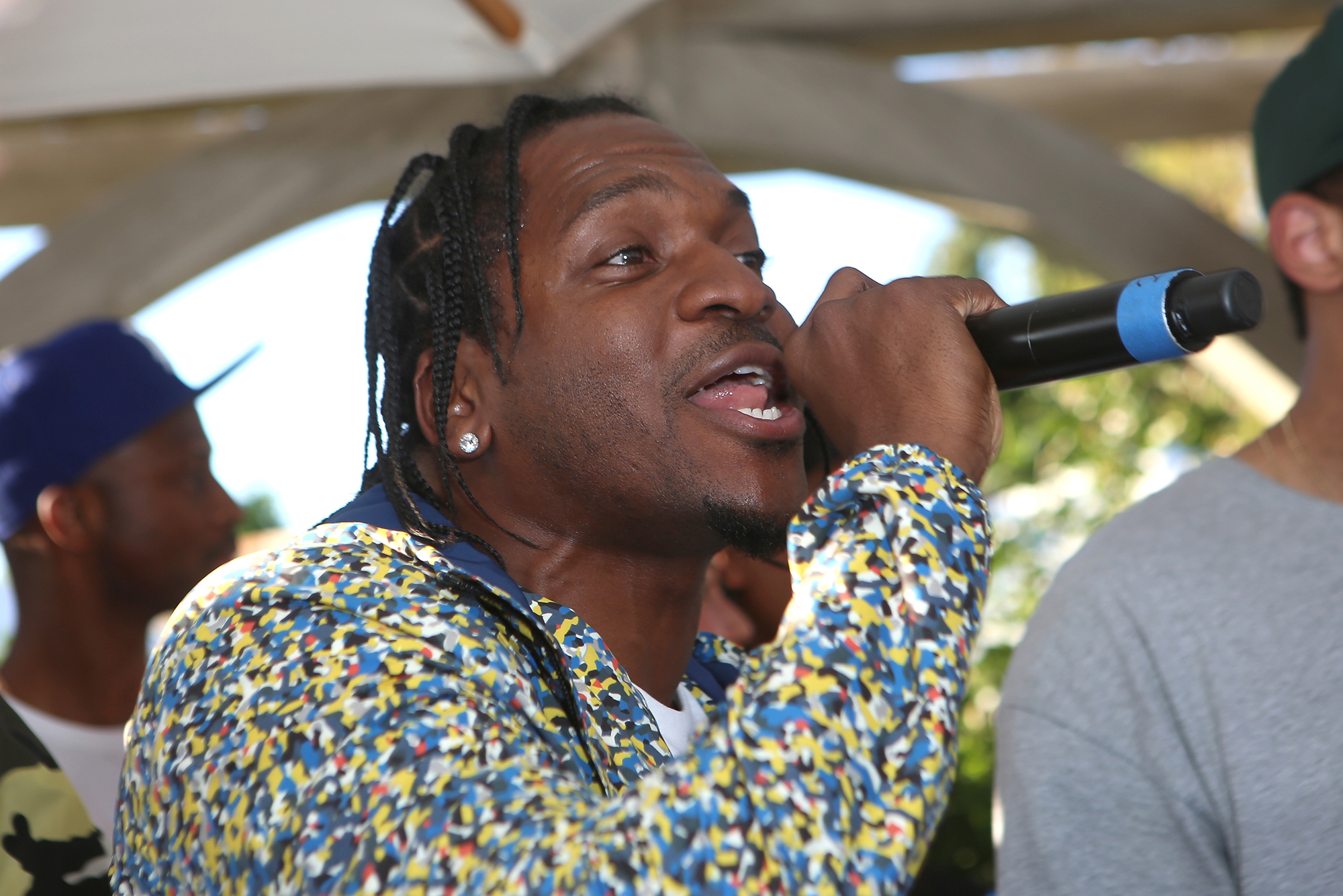 THERMAL, CA - APRIL 17:  Rapper Pusha T performs at REVOLVE Desert House (Photo by Ari Perilstein/Getty Images for A-OK Collective, LLC.)