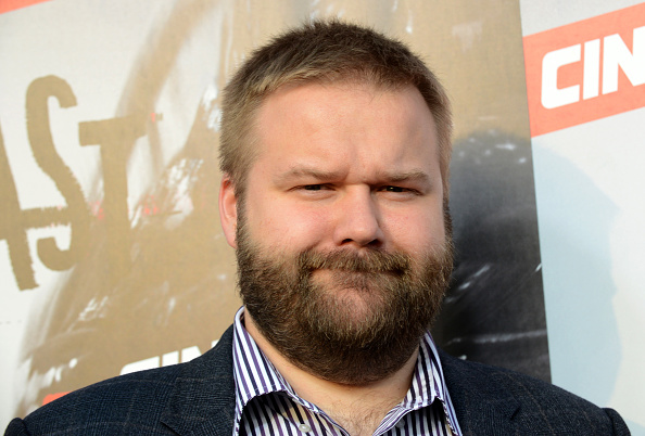Creator/Executive Producer Robert Kirkman arrives for the Premiere Of Cinemax's 'Outcast' held at Hollywood Forever on June 1, 2016 in Hollywood, California.