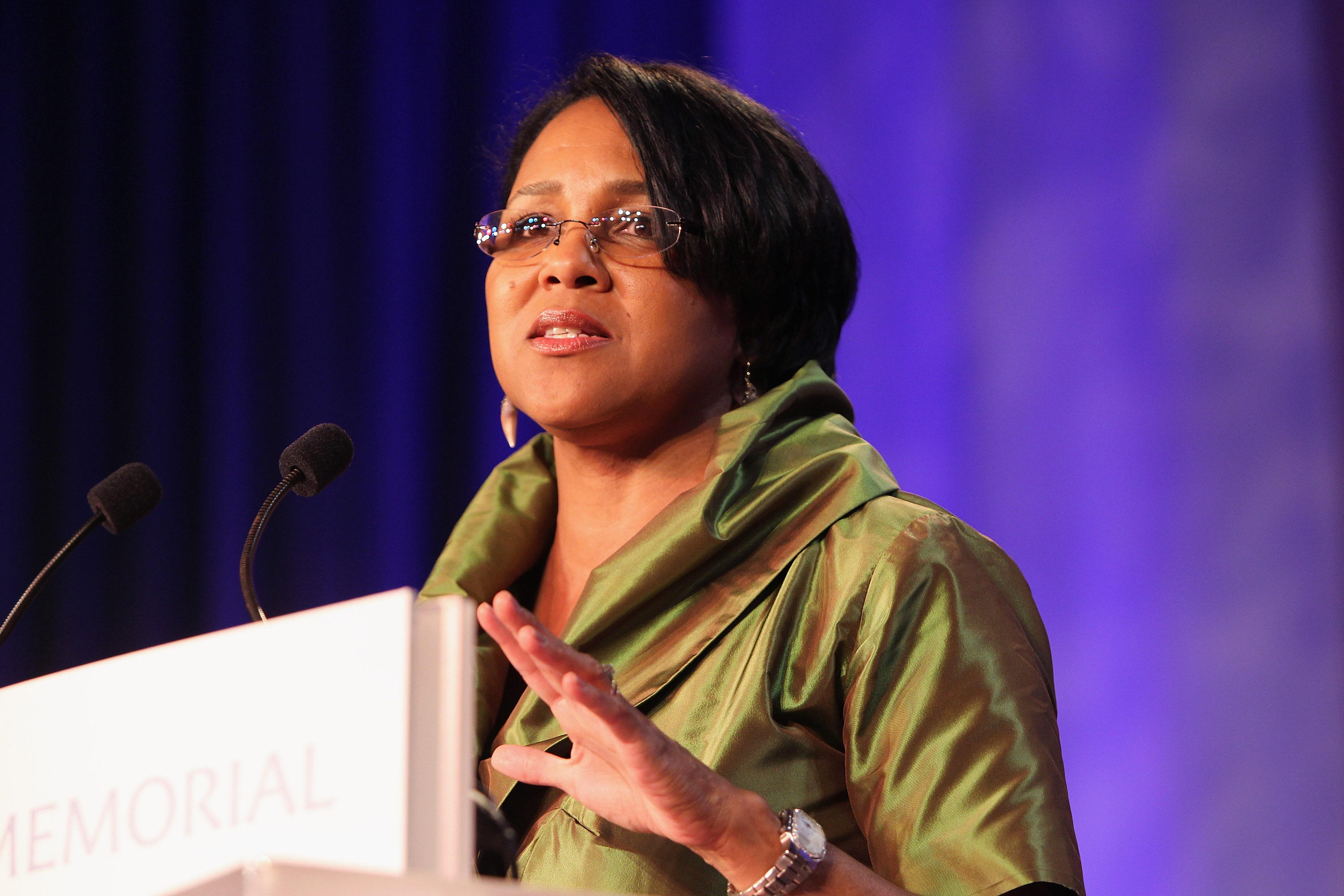 Rosalind Brewer at the Martin Luther King, Jr. Memorial Dream Gala in Washington on Oct. 15, 2011.