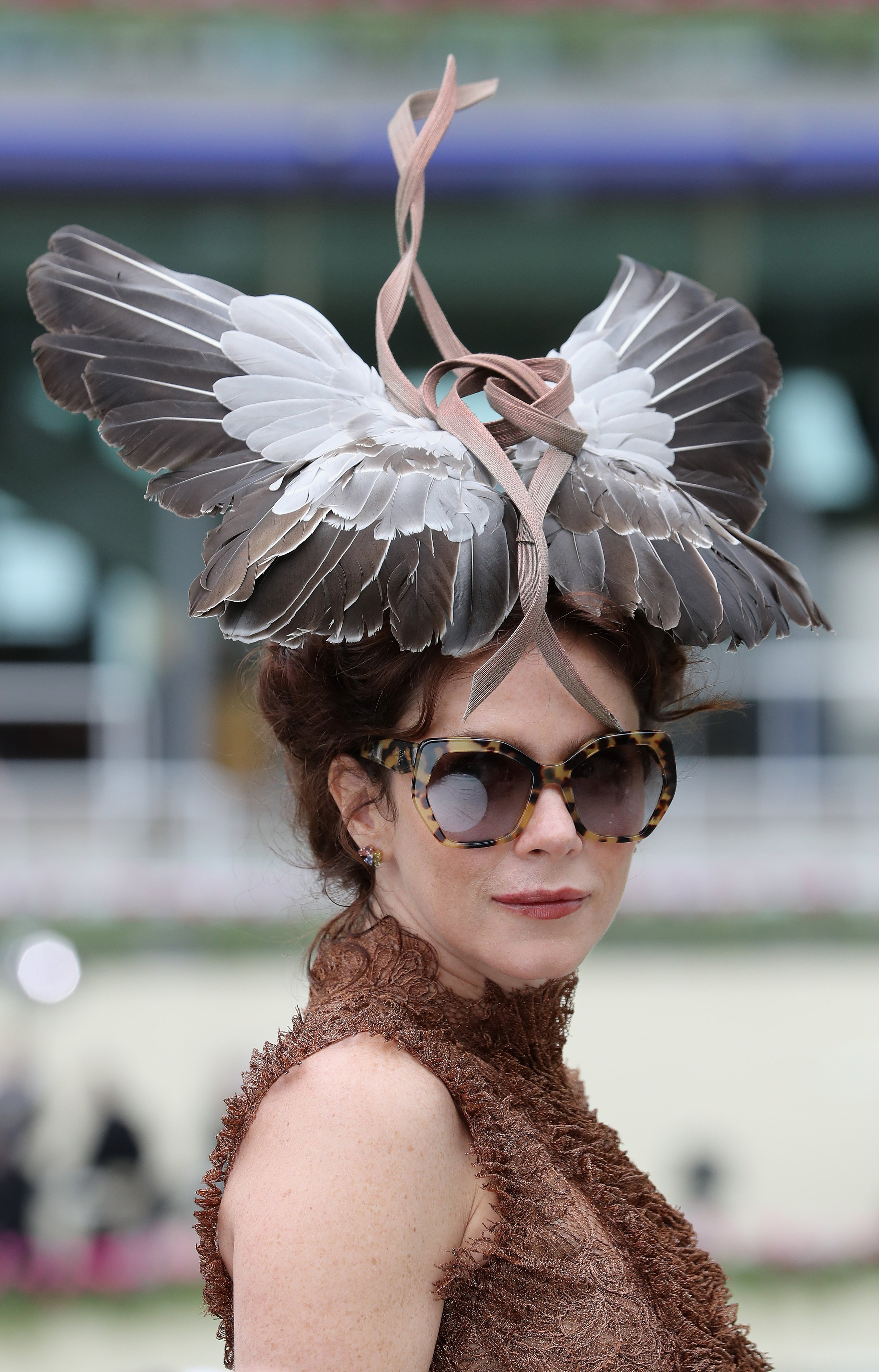 Actress Anna Friel at the Royal Ascot horse race meeting in Ascot, U.K., on June 17, 2016.