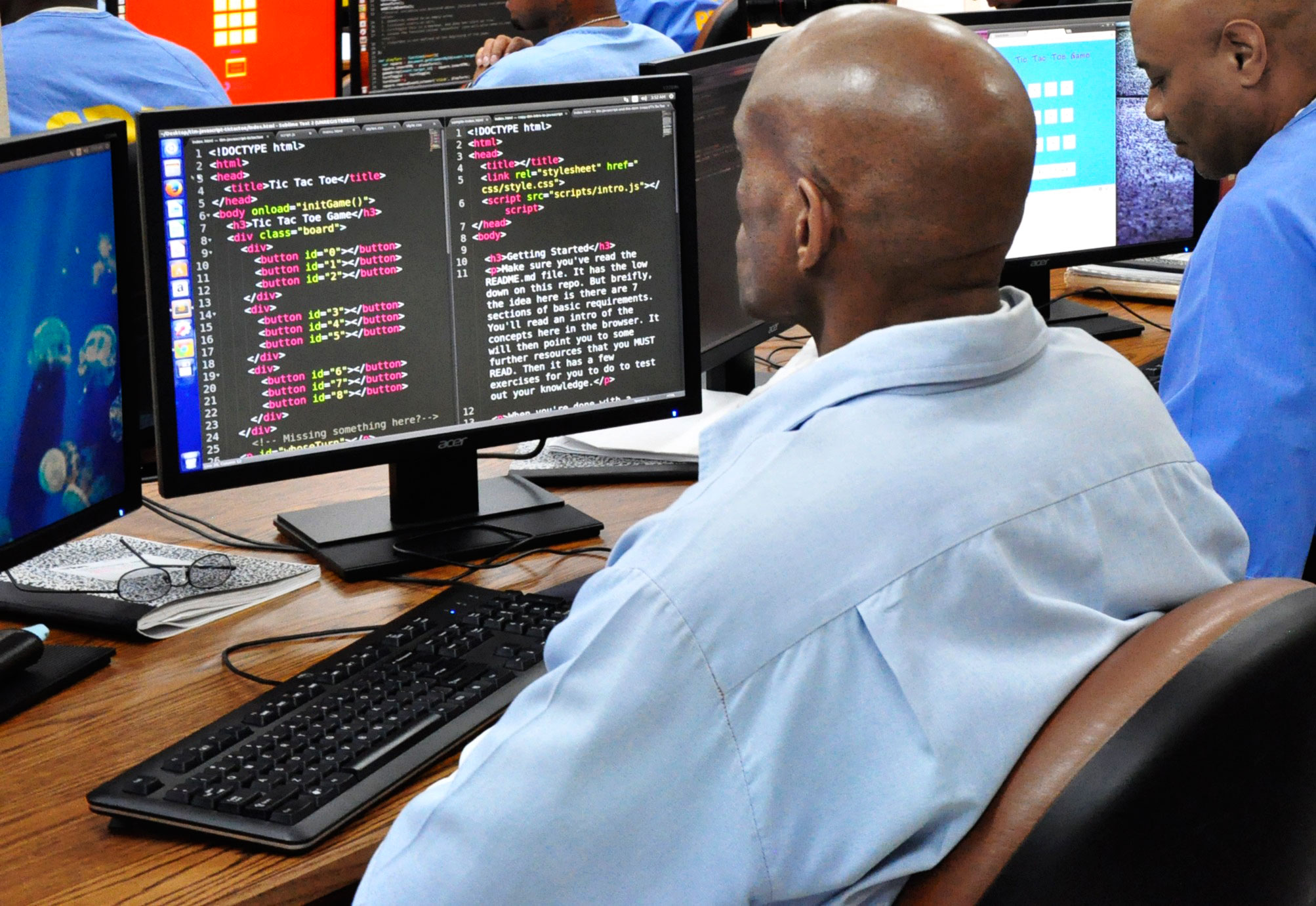 Inmates at San Quentin can learn to code