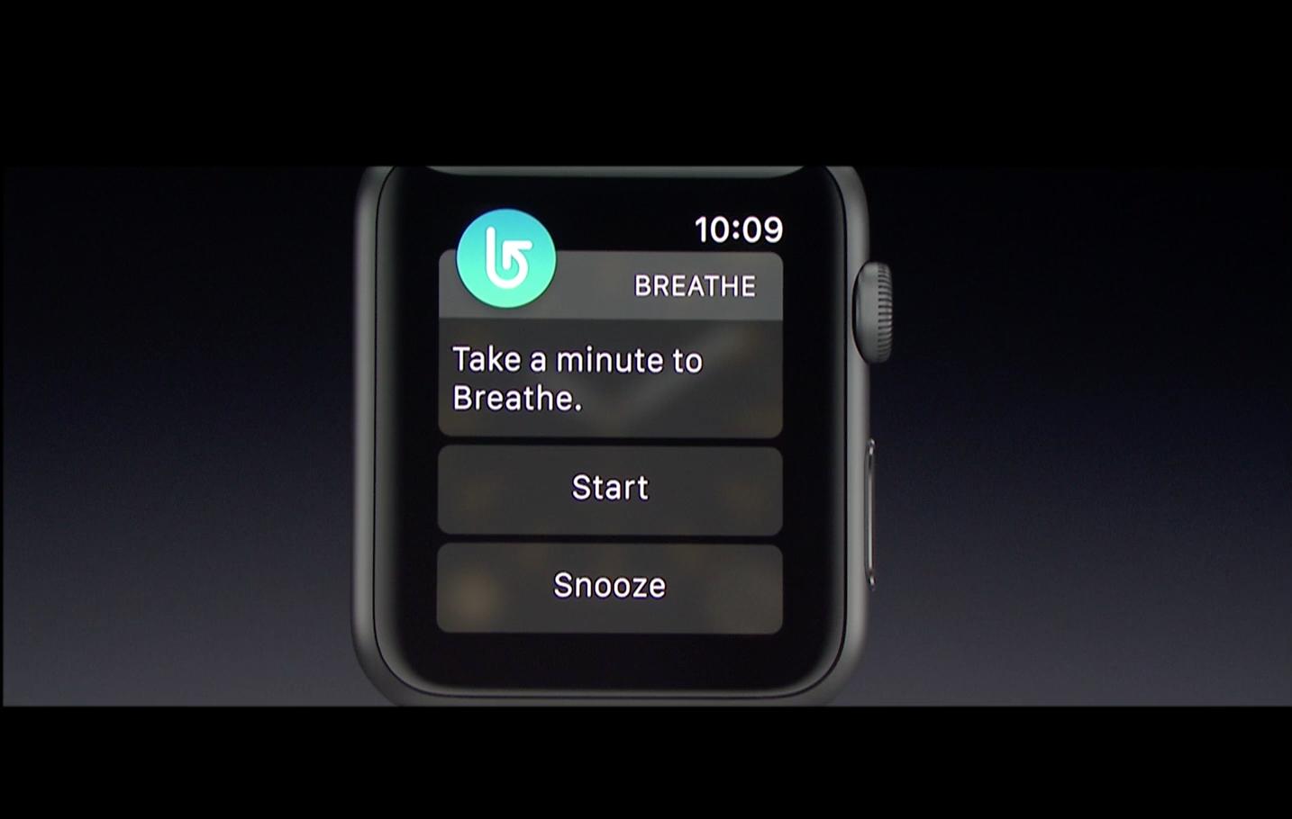 Apple Breathe App