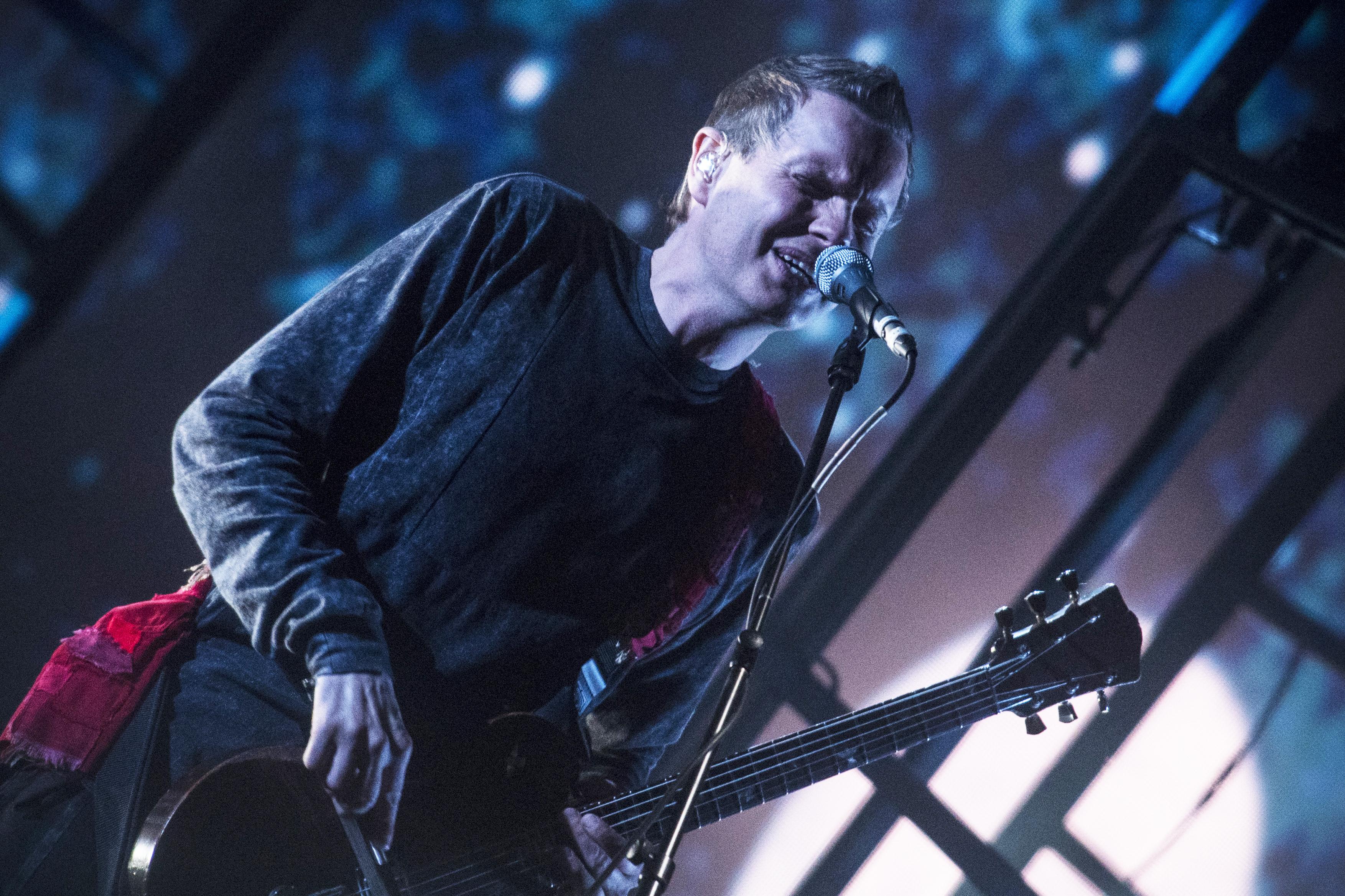 Jónsi Birgisson of Sigur Rós performs in Barcelona, Spain, on June 4, 2016.