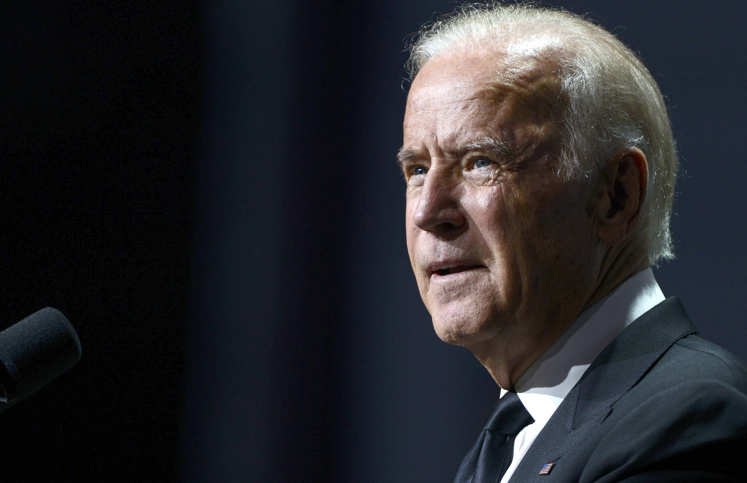 Vice President Joe Biden speaks during the 19th Annual HRC National Dinner at Walter E. Washington Convention Center on October 3, 2015 in Washington, DC.