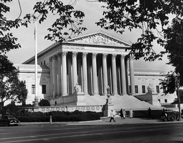 The Supreme Court Building in Washington D.C.