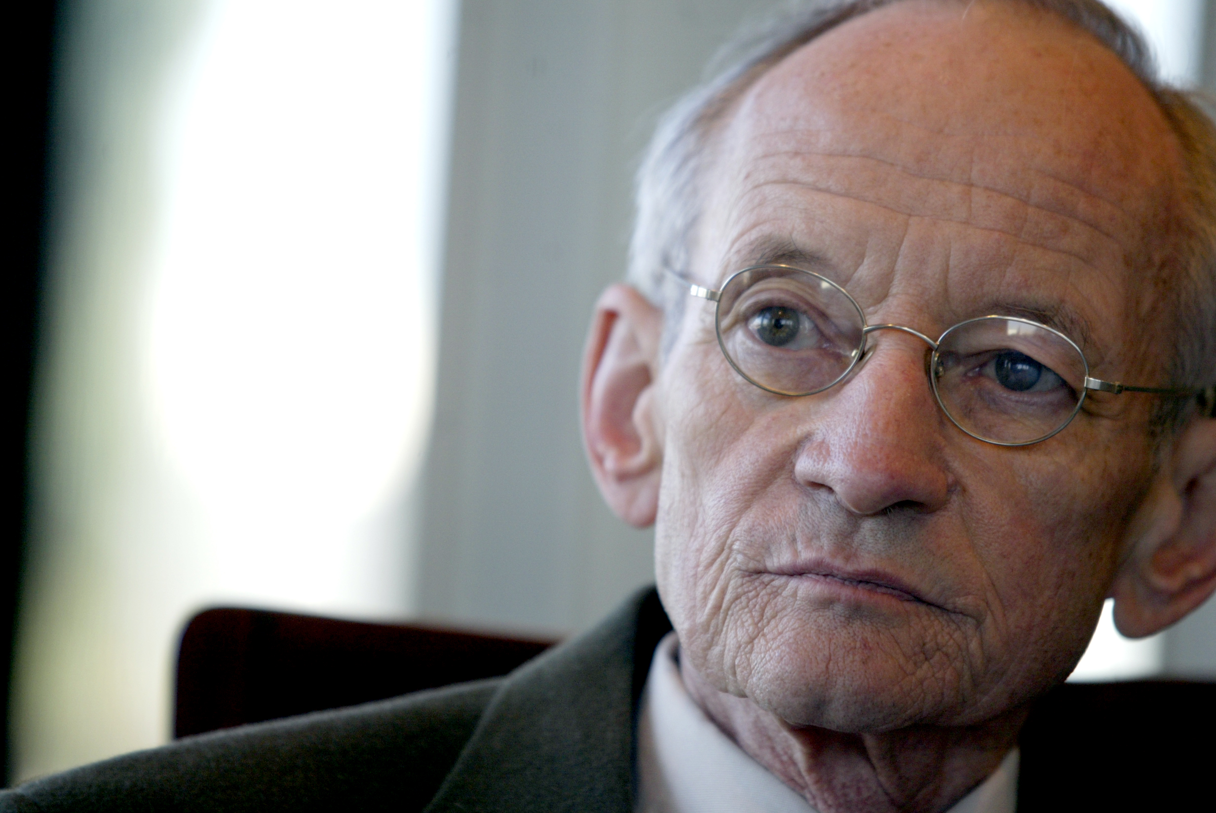 Ted Kooser at the Library of Congress in Washington on Oct. 6, 2004.