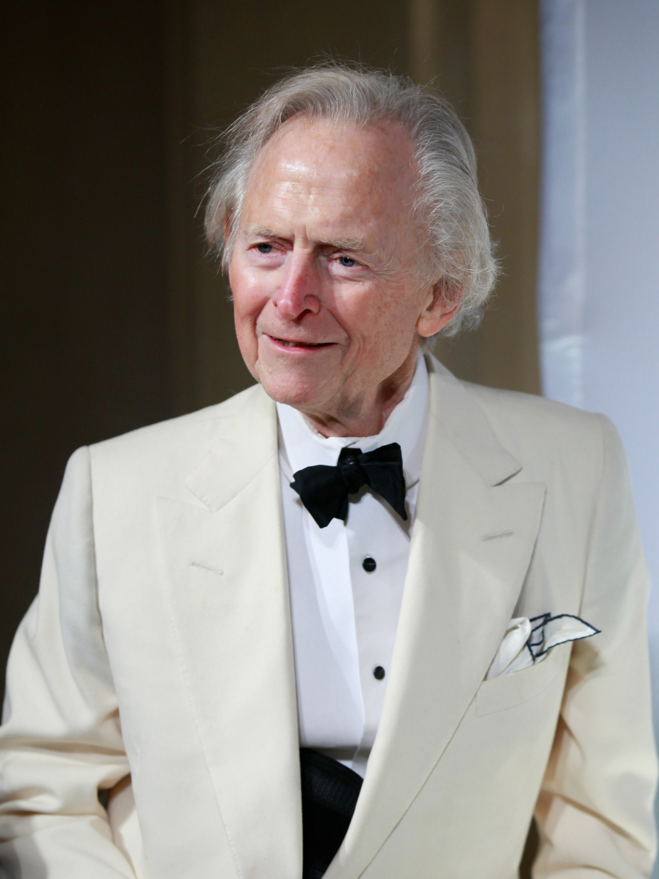 Tom Wolfe at the 2012 Trophee Des Arts gala in New York City on Nov. 30, 2012.