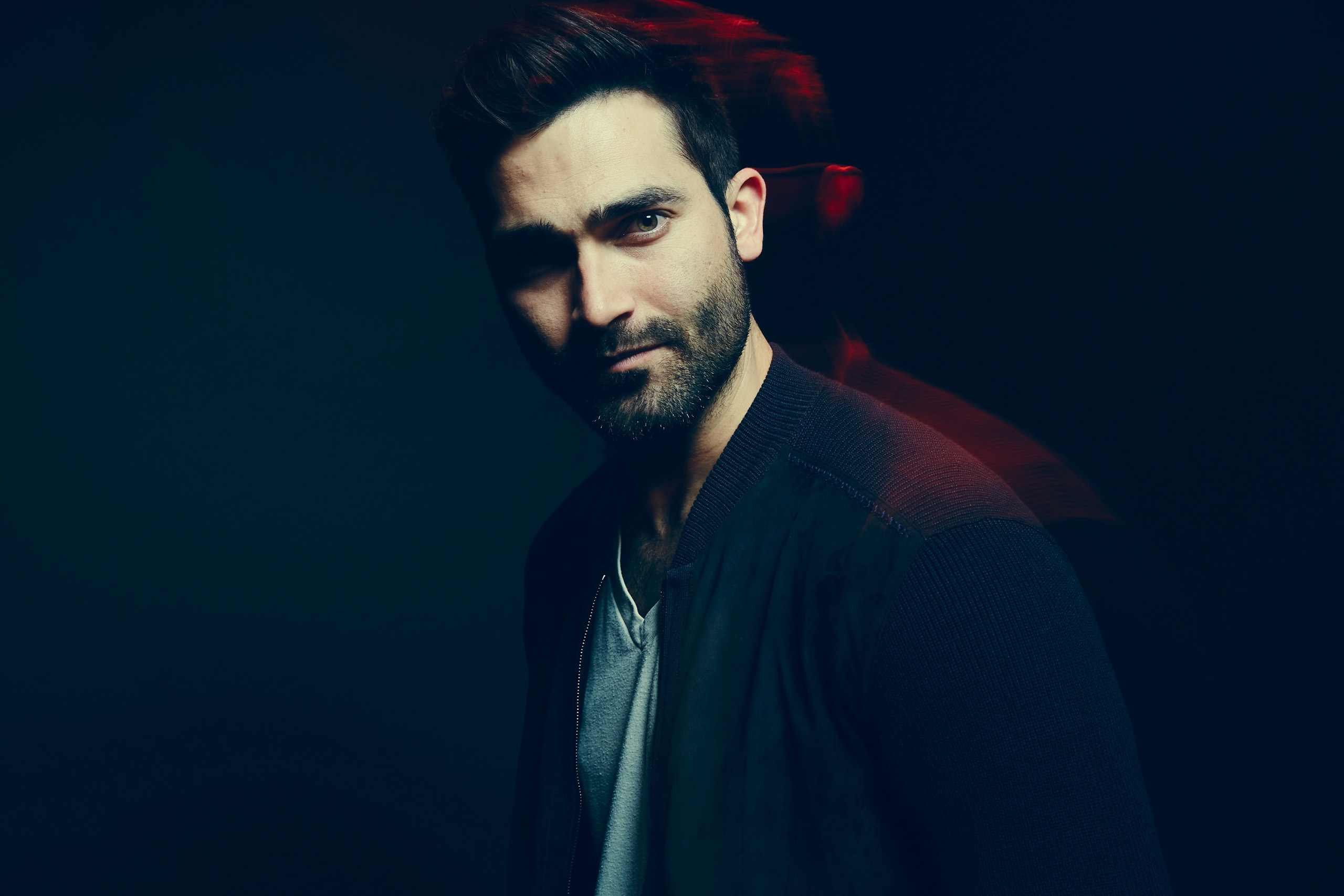 Actor Tyler Hoechlin of 'Everybody Wants Some!!' poses in the Getty Images SXSW Portrait Studio powered by Samsung on in Austin on March 11, 2016.