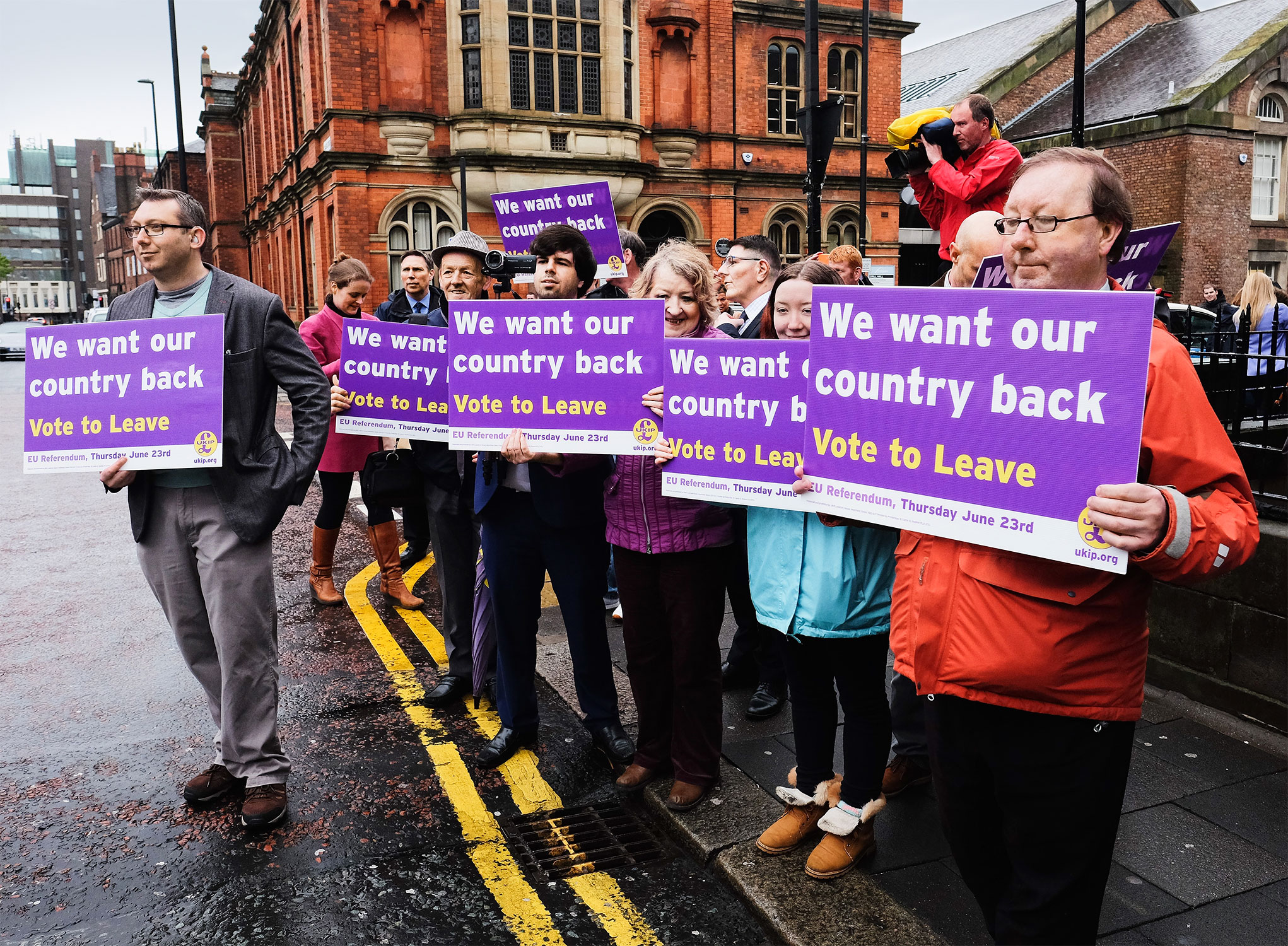 """The """"Leave"""" side could benefit from a higher voter turnout"""