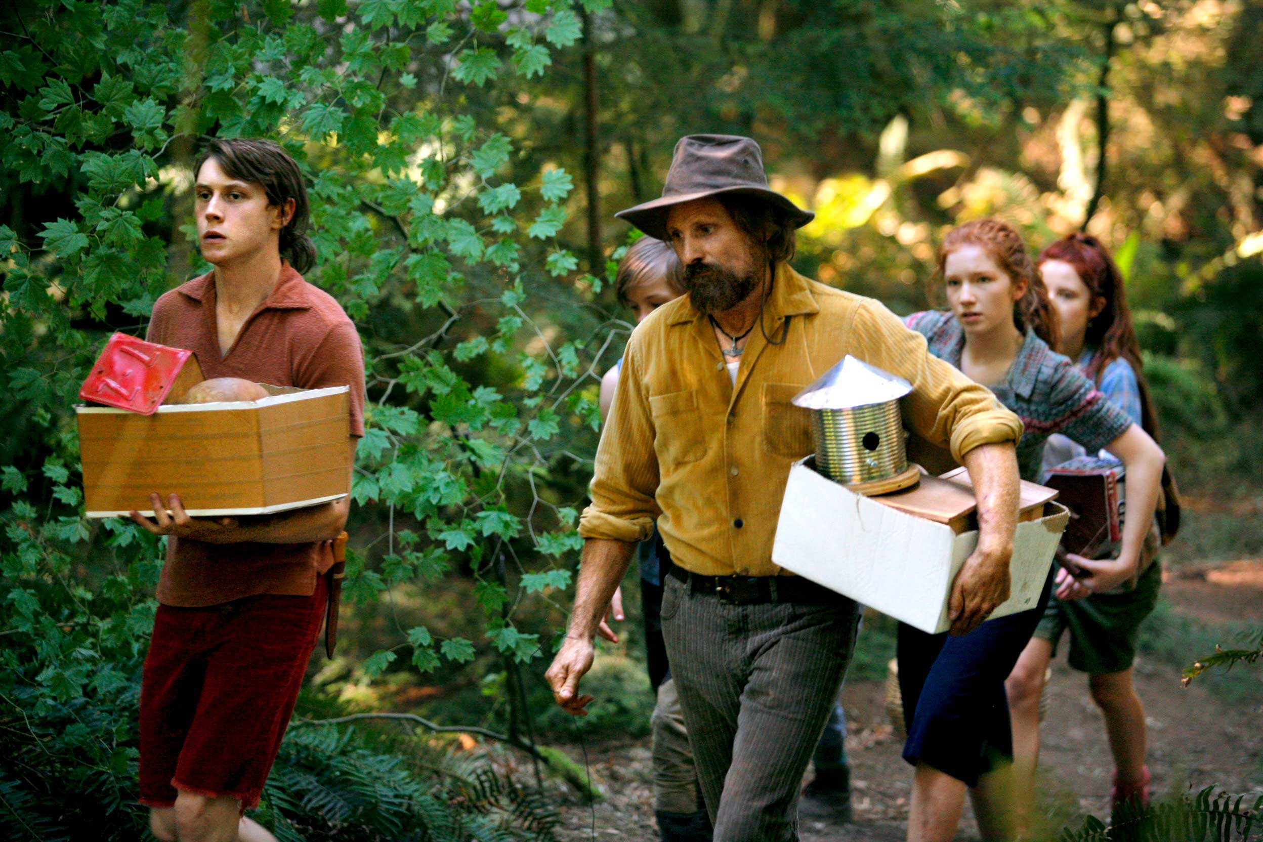 Father doesn't always know best in Captain Fantastic