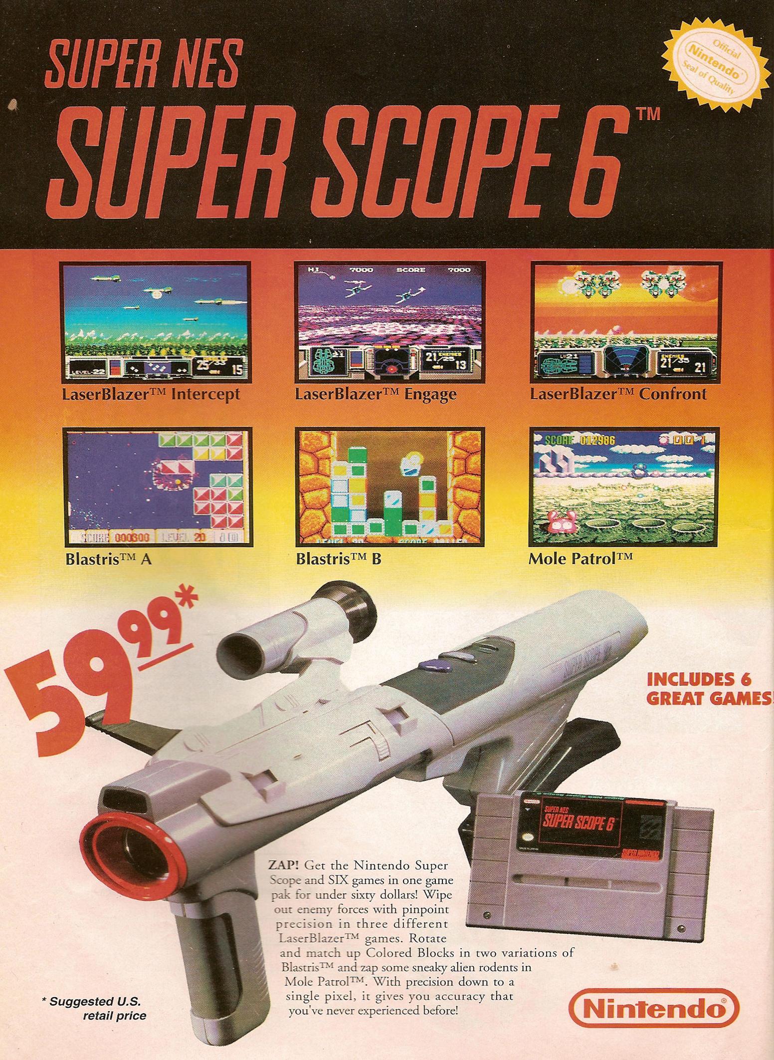 Nintendo Super Scope