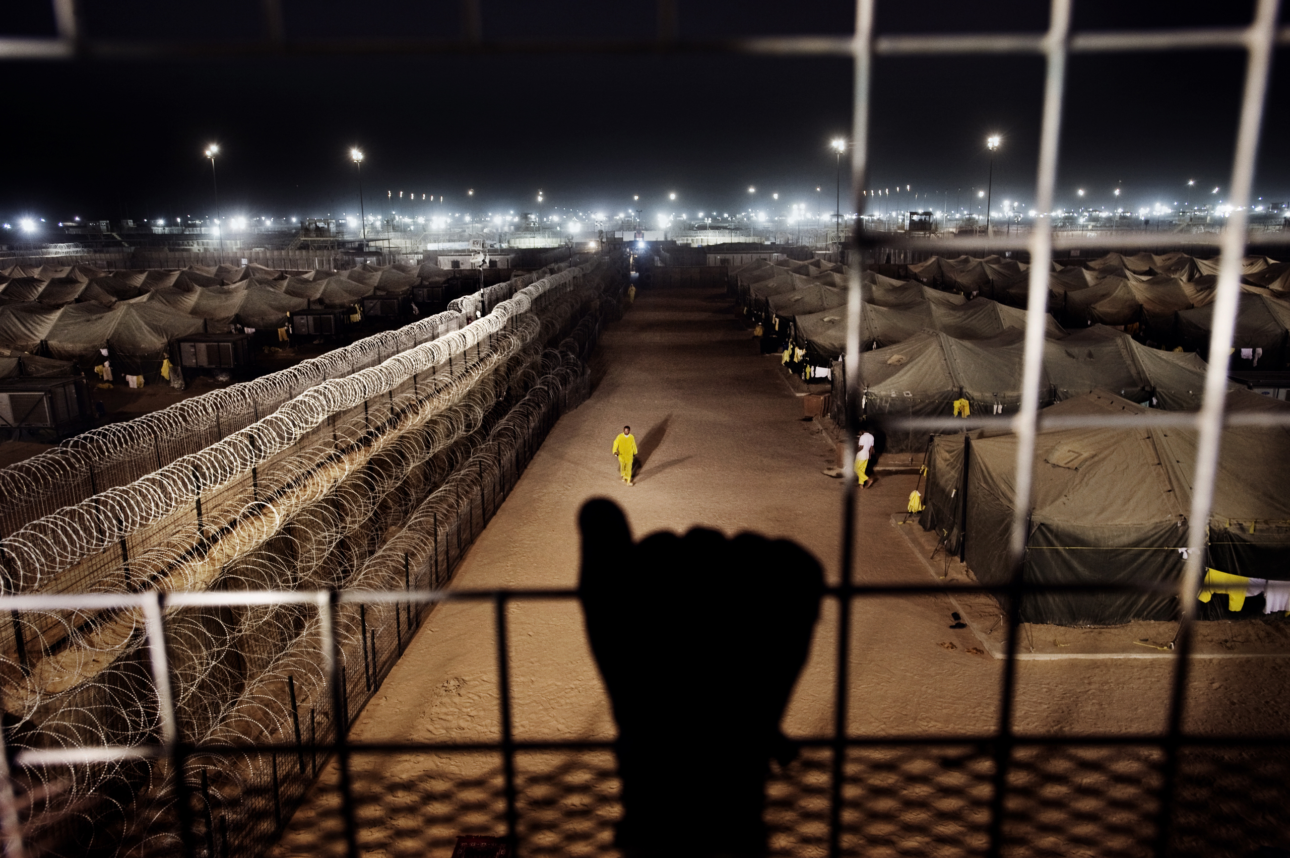 Camp Bucca, an American detention facility, March 16, 2009.