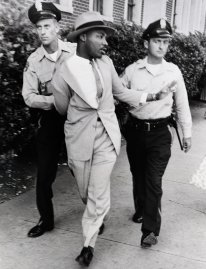 Police Arresting Martin Luther King in 1958.