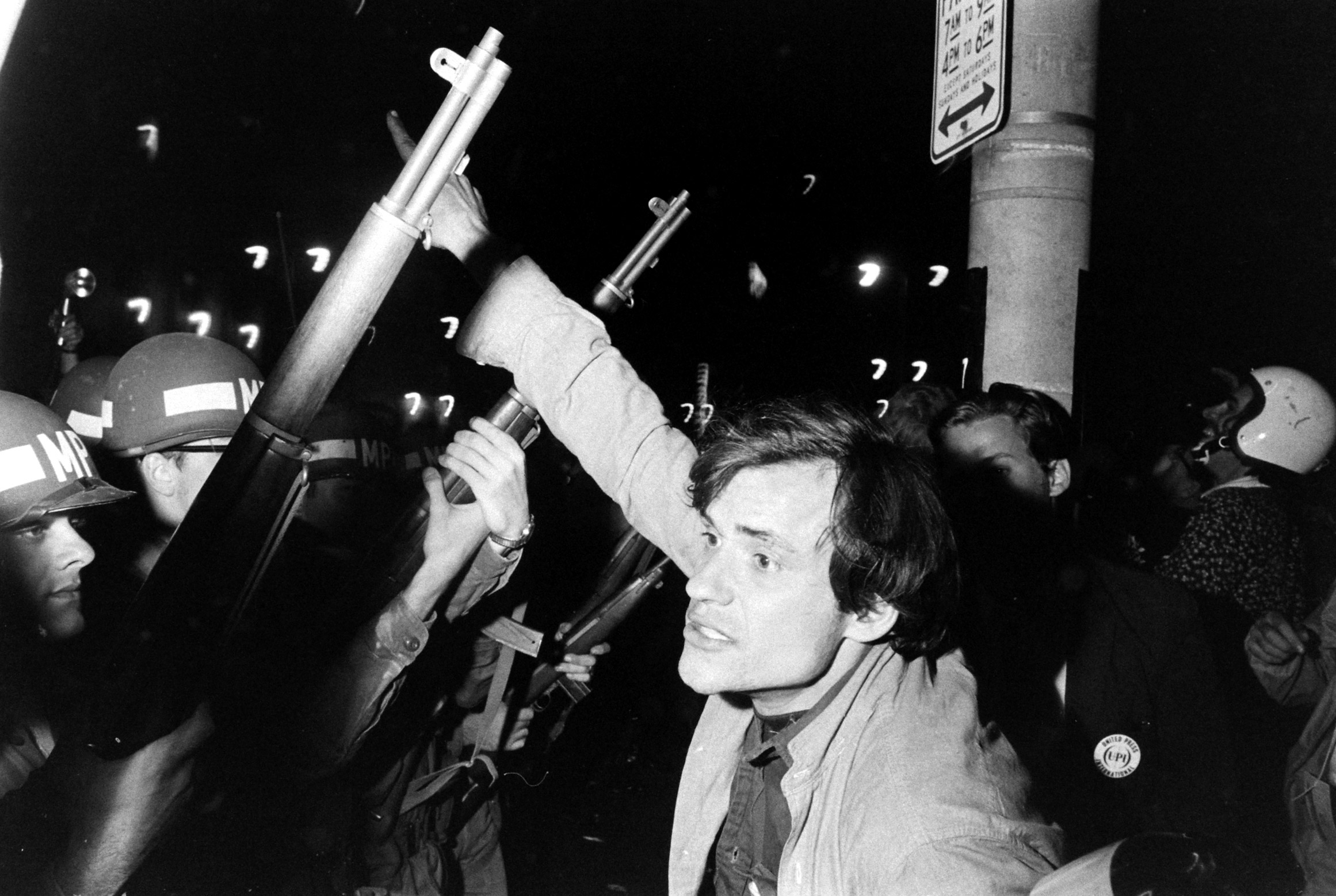 Protests at the Democratic Convention in Chicago, August 1968.