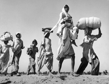 Five million Indians fleeing ruing the great migration in 1947.