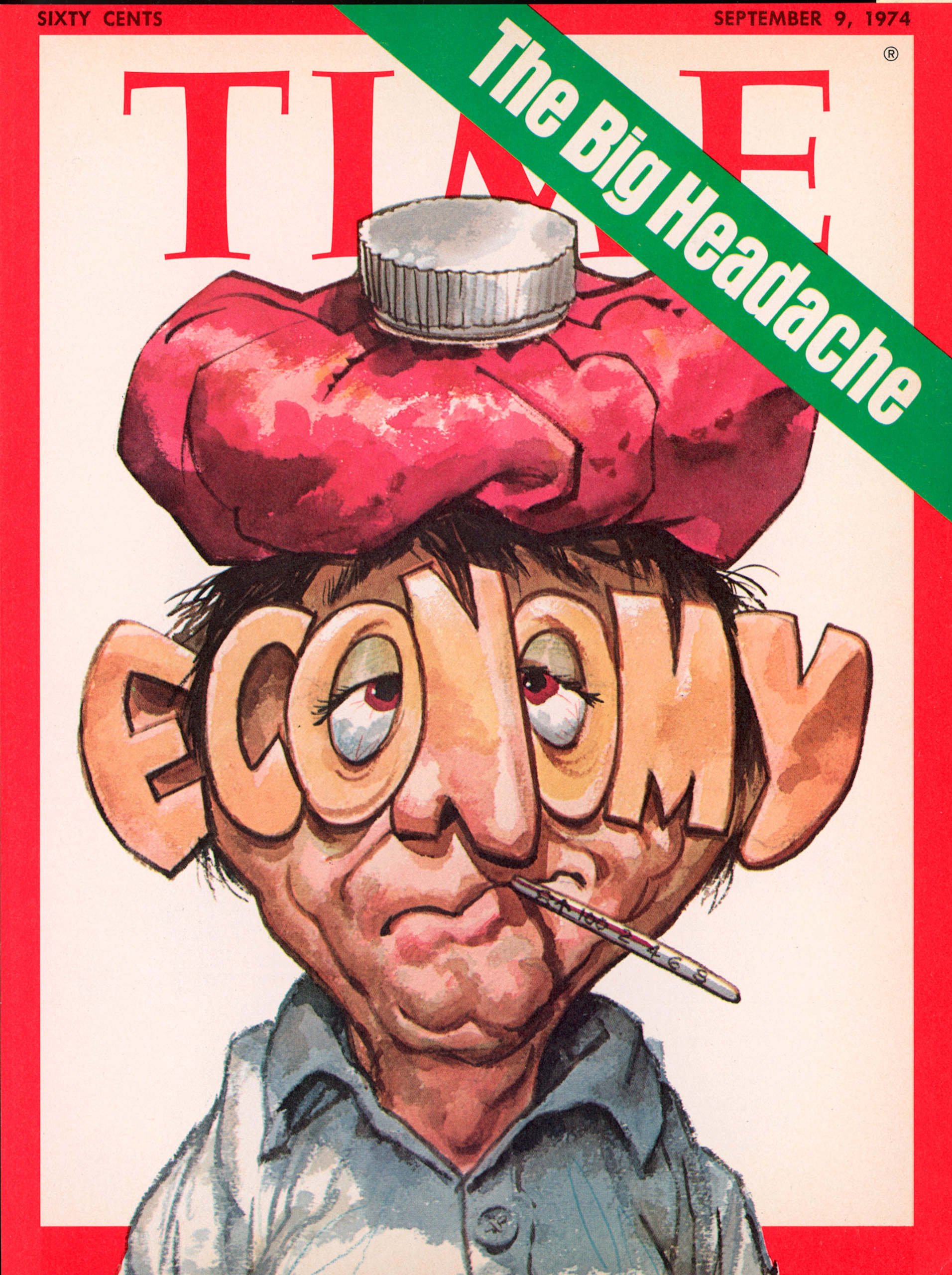September 9, 1974 cover of TIME magazine featuring art by Jack Davis.