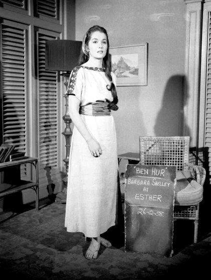 Film stills from the original production of Ben Hur in 1959.