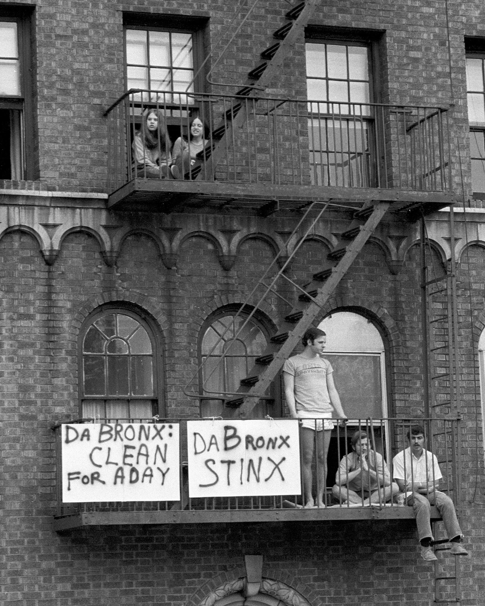 Bronx Day Parade, May 1971.
