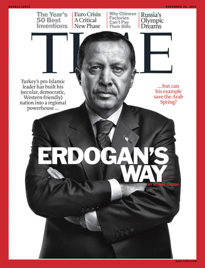 The Nov. 28, 2011, cover of the Europe edition of TIME