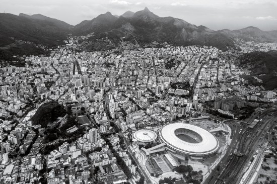 Rio sprawls around Maracanã Stadium, site of the opening and closing ceremonies