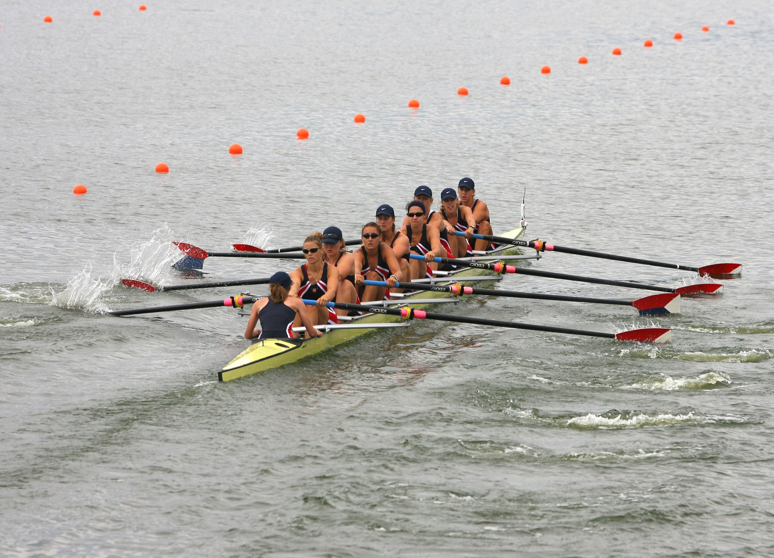 <strong>Katelin Snyder, Rowing, USA</strong>The U.S. women's eight-rowing squad has won every world title and Olympic gold medal since 2006. Snyder, the coxswain, is an Olympic rookie, but she's guided four U.S. boats to world championships.
