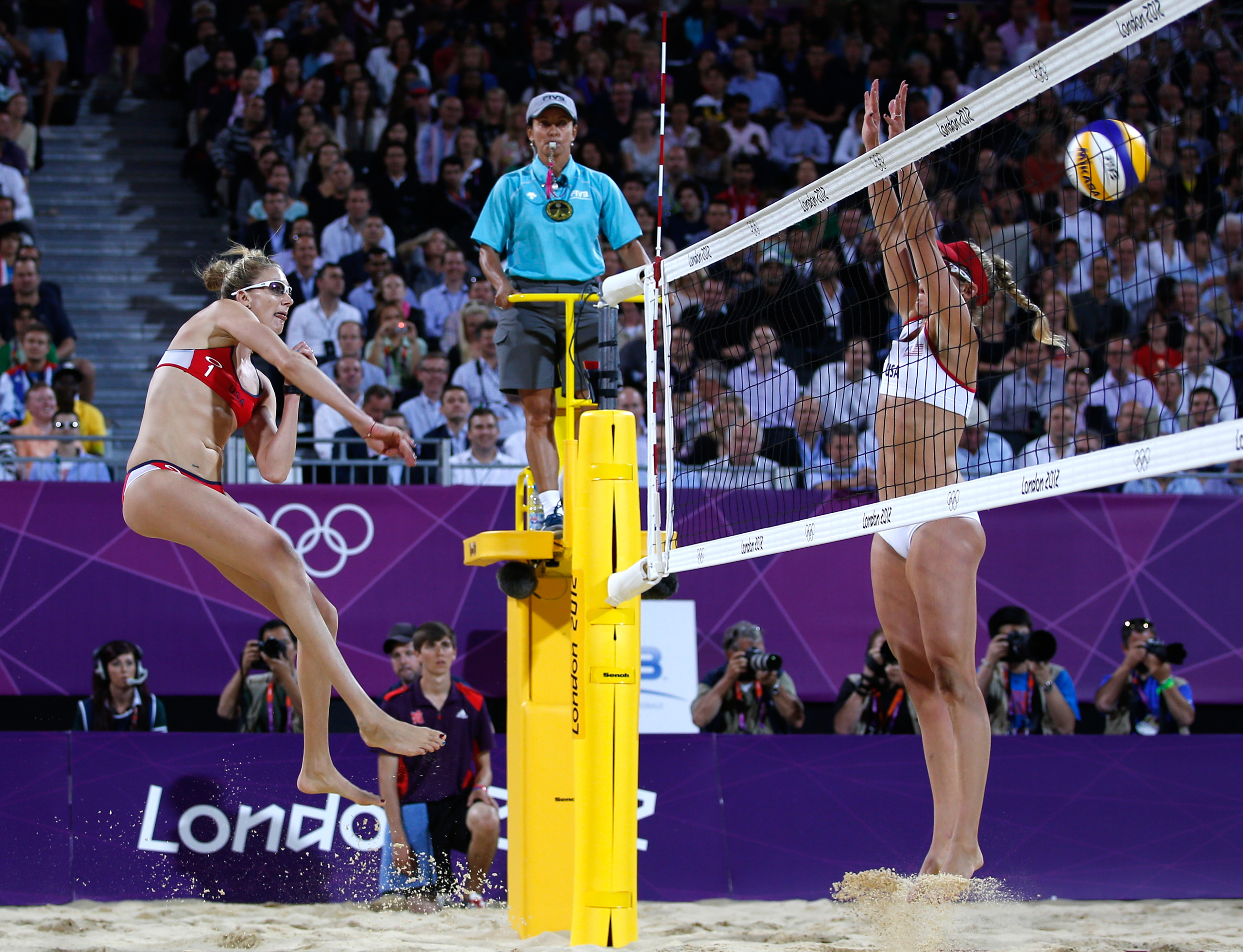 """<strong>Kerri Walsh Jennings and April Ross, Beach Volleyball, USA</strong>                                   Americans Walsh Jennings and her longtime partner Misty May-Treanor won a record three Olympic golds in beach volleyball. But after May-Treanor retired, Walsh Jennings linked up with Ross, whom she beat in the 2012 gold medal match, in her quest for number four. To get it, they'll have to outplay the elite Brazilians teams of  Larissa and Talita, and Barbara and Agatha. The crowds for those matches on Copacabana Beach will be among the most raucous of the entire Games. """"I love Brazil's fans, even if they're not rooting for me,"""" Walsh Jennings tells TIME. """"They bring out our best."""""""