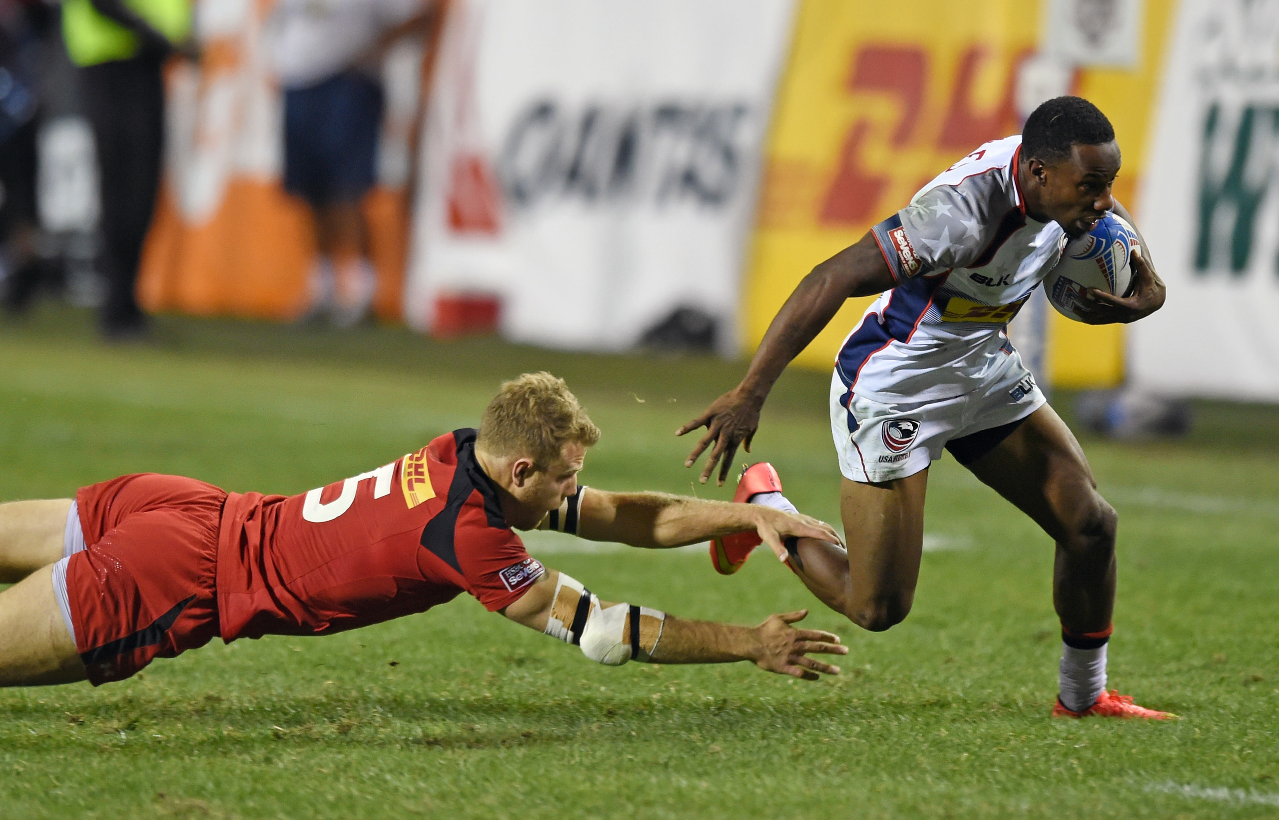 <strong>Carlin Isles, Rugby, USA</strong>The former football and track star stumbled across an online video of rugby in 2012 and decided to try the sport. He's now regarded as the fastest man in the game, which is back in the Olympics after 92 years. Thanks to crossover athletes like Isles and New England Patriot Nate Ebner, the U.S. has a real shot at the podium in the speedier version of the game, known as rugby sevens.