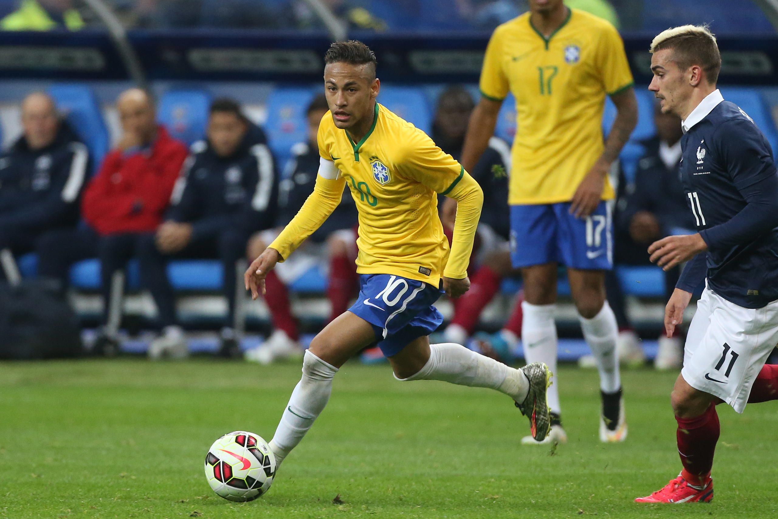 """<strong>Neymar, Soccer, Brazil</strong>In Brazil, the pain of the 2014 World Cup still sears. Germany embarrassed the host country, 7-1, in the semi-finals, sparking a national mourning period that hasn't ended. """"We will never forget,"""" says Rio resident Sergio Duarte. """"We cannot forgive.""""                                    Winning Brazil's first-ever Olympic soccer gold won't erase that hurtful memory. But in this soccer-mad nation, a home-field triumph would go a long way toward purging the ghosts. Much of the burden for that falls on Neymar, the Barcelona star who will be Brazil's face of the Games. Considered a potential heir to Pelé, he missed the World Cup disgrace with fractured vertebrae. Should he lead Brazil past defending champion Mexico and deliver gold in Rio, it will be more than redemption. Brazil will cheer its favorite game again, and Neymar will solidify his legend. —Sean Gregory"""