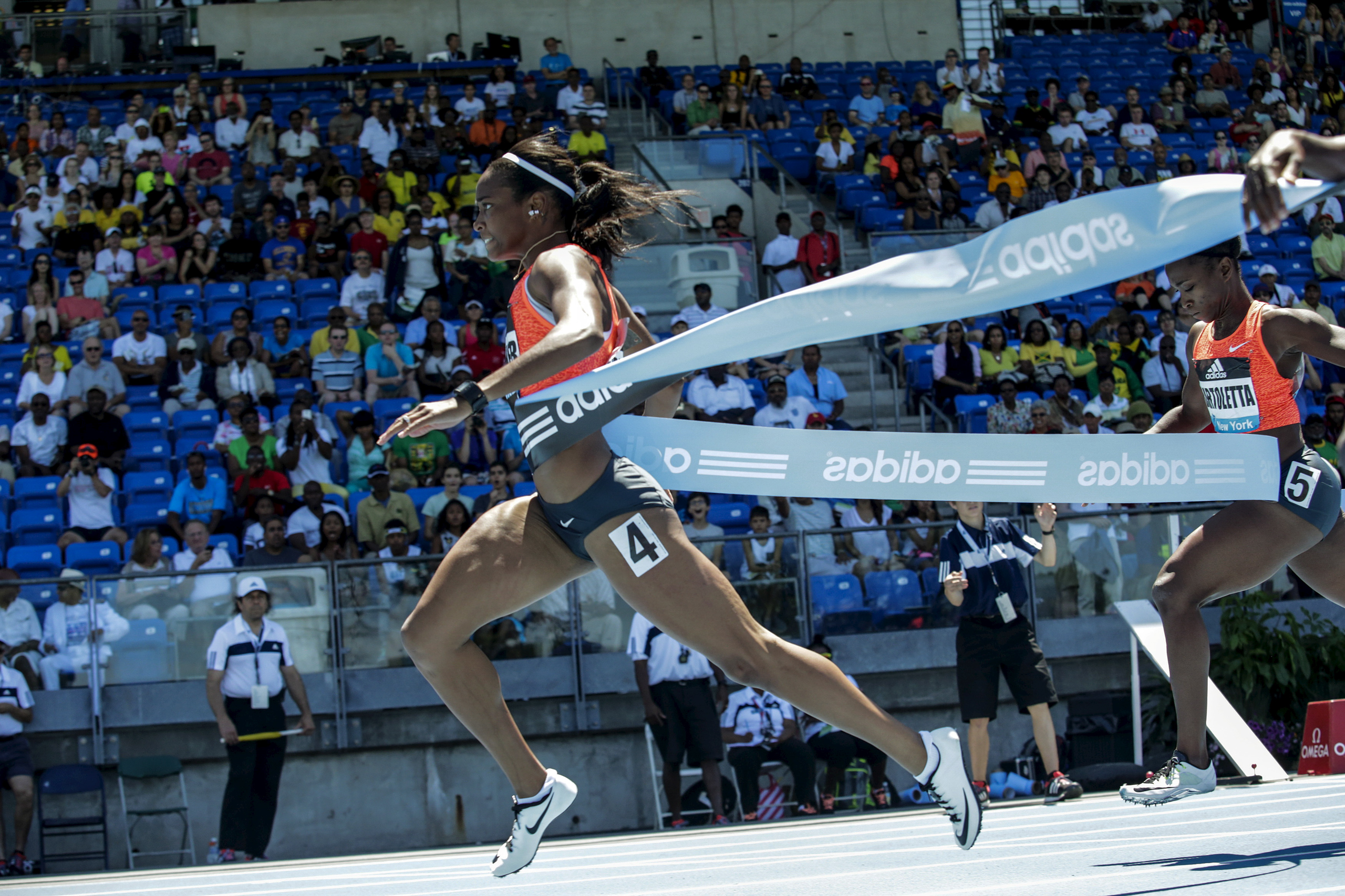 <strong>English Gardner, Track and Field, USA</strong>After tearing her knee in a high school powder-puff-football game, Gardner thought she'd never race again. She's now the fastest woman in the U.S. and a 100-m threat.