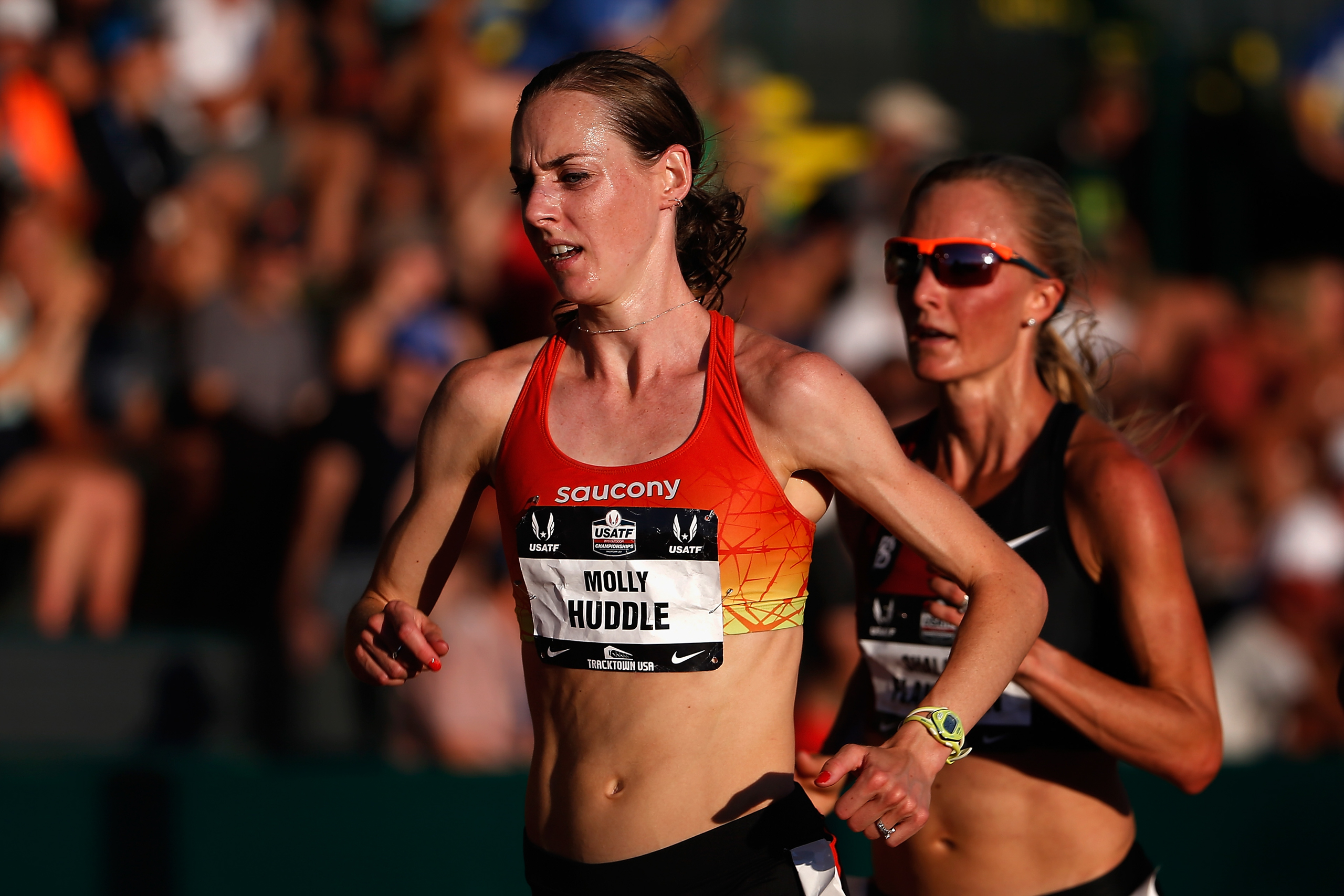 <strong>Molly Huddle, Track and Field, USA</strong>Huddle won both the 5,000 m and 10,000 m at U.S. trials, but will only run the 10,000 in Rio, where she could be just the third American woman to medal in that event.