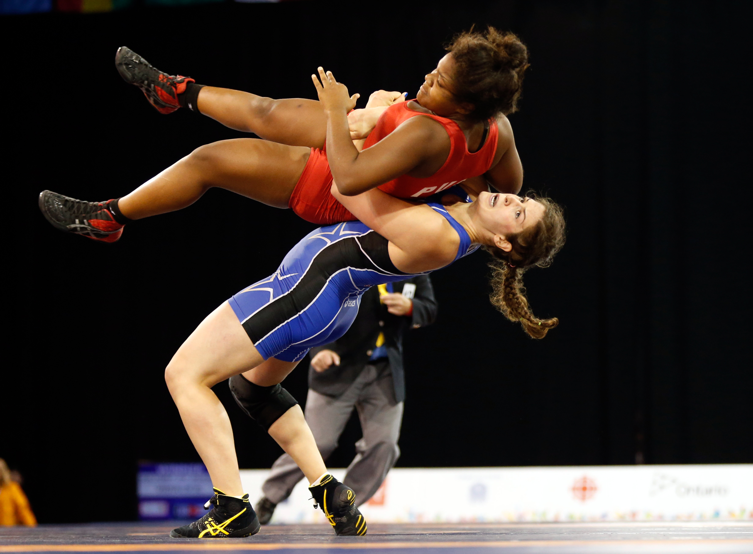 """<strong>Adeline Gray, Wrestling, USA</strong>A three-time world champion and daughter of a Denver police officer, Gray, 25, is a favorite to win America's first-ever gold in women's wrestling. """"Where I feel creative,"""" she says, """"is on the wrestling mat."""""""