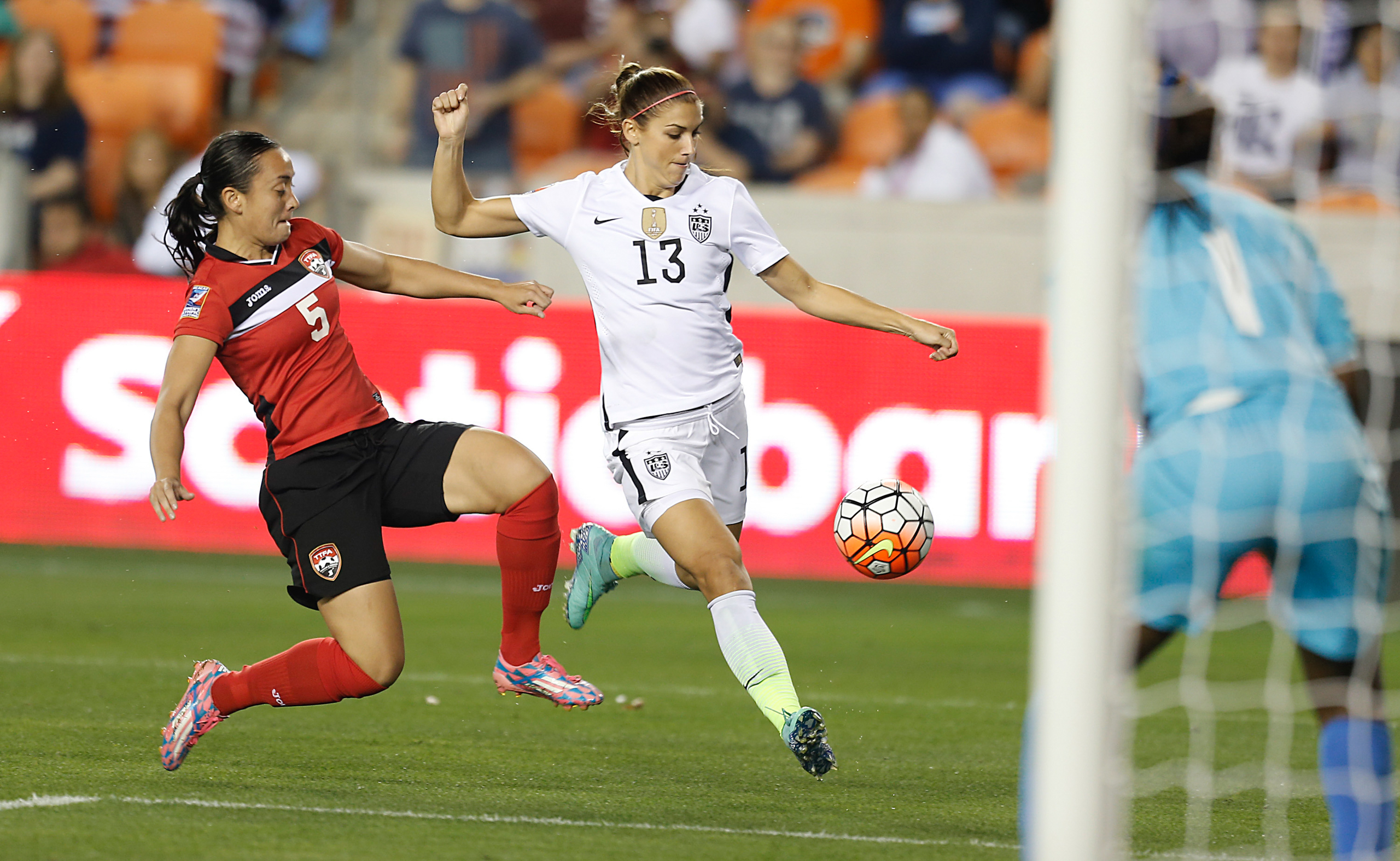 <strong>Alex Morgan, Soccer, USA</strong>A semifinal-winning header at the London Games turned her into a superstar. One year after winning the World Cup, she leads a U.S. squad favored to win gold over France and Brazil.