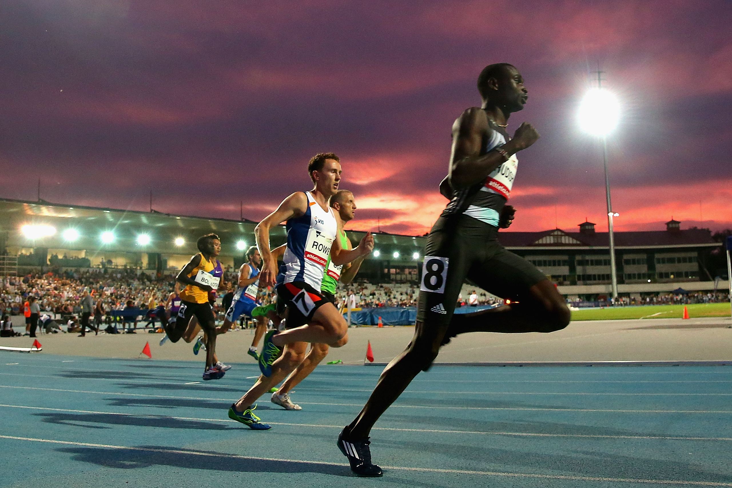<strong>David Rudisha, Track and Field, Kenya</strong>The world-record holder in the 800 returns to defend his Olympic title. He holds six of the eight fastest times ever run in the event.