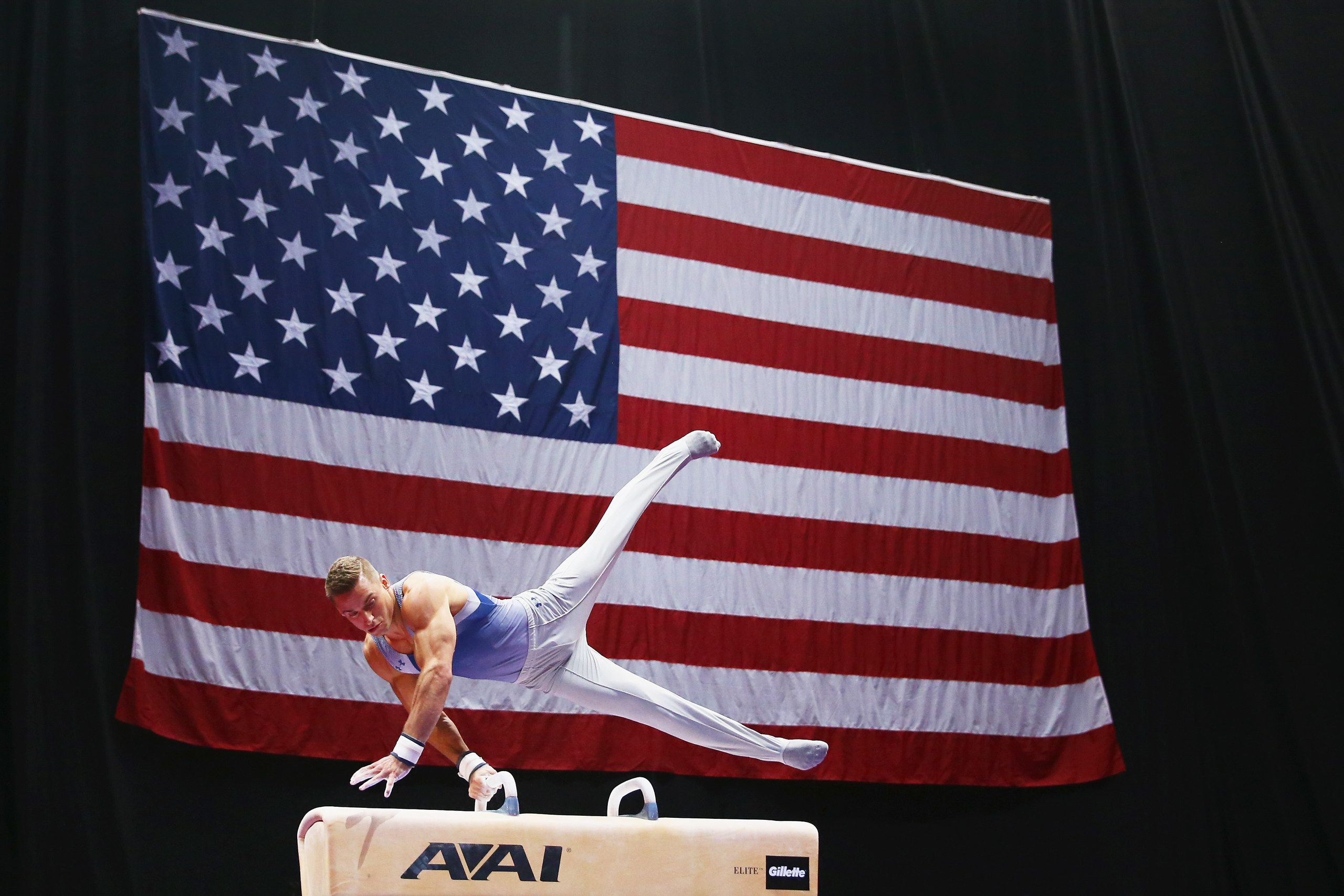 <strong>Sam Mikulak, Gymnastics, USA</strong>Newly recovered from an ankle injury that kept him out most of the season, he's the U.S.'s best hope in the men's all-around but faces stiff competition from China and Japan.