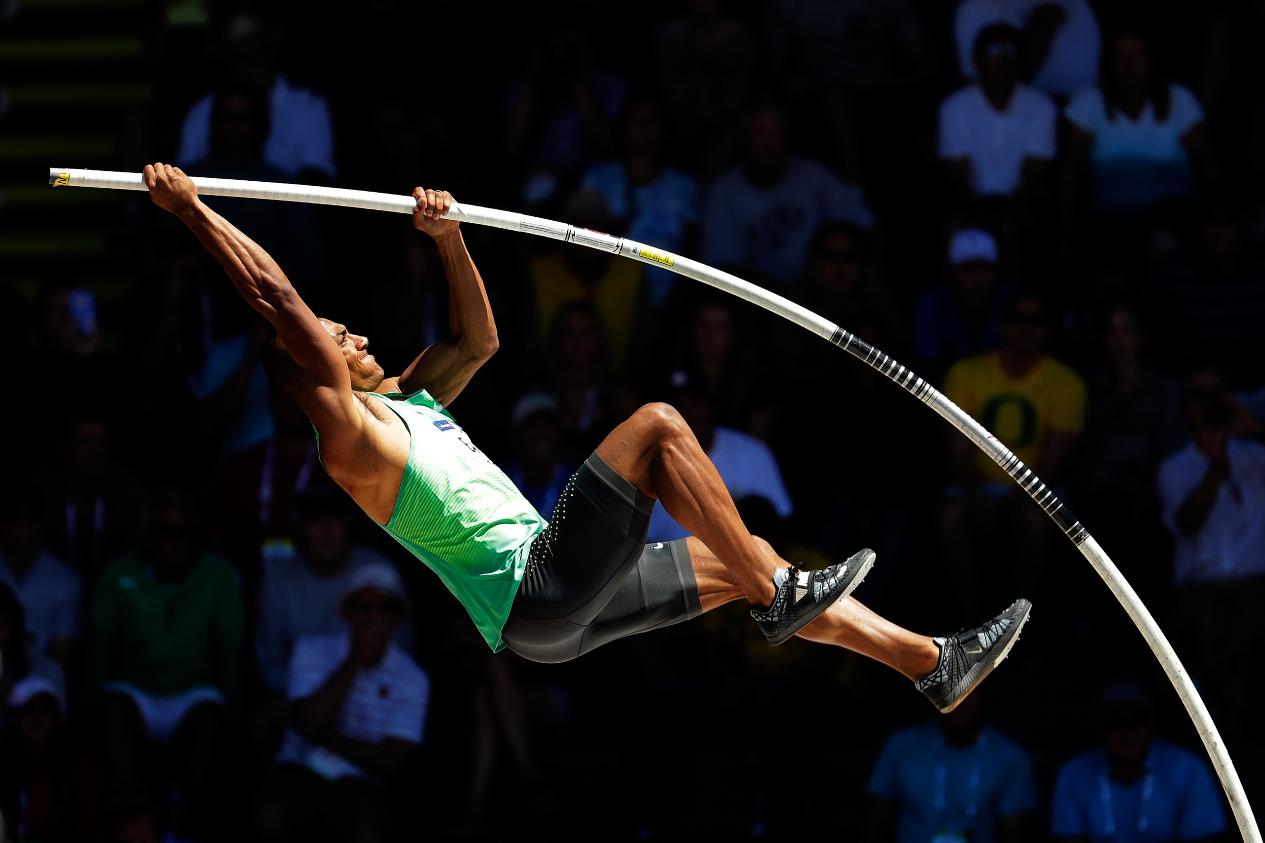 <strong>Ashton Eaton, Track and Field, USA</strong>The winner of the Olympic decathlon has been hailed as the world's greatest athlete ever since King Gustav V of Sweden bestowed the honor on Jim Thorpe at the 1912 Stockholm Games. It isn't mere hyperbole: the decathlon is a grueling two-day test of speed (100-m dash, 110-m hurdles, 400 m), endurance (1,500-m run), agility (long jump, high jump, pole vault) and strength (shot put, discus, javelin).                                   Over the past four years, no one has been better at it than Oregon native Ashton Eaton, 28. Eaton, who's married to Canadian heptathlon contender Brianne Theisen-Eaton, won gold in London and hasn't lost a major competition since. At the 2015 world championships, Eaton broke his own world record. Should he win in Rio, he'd become the first back-to-back Olympic decathlon champ in 32 years. World's greatest athlete? Maybe that should be of all time. —S.G.