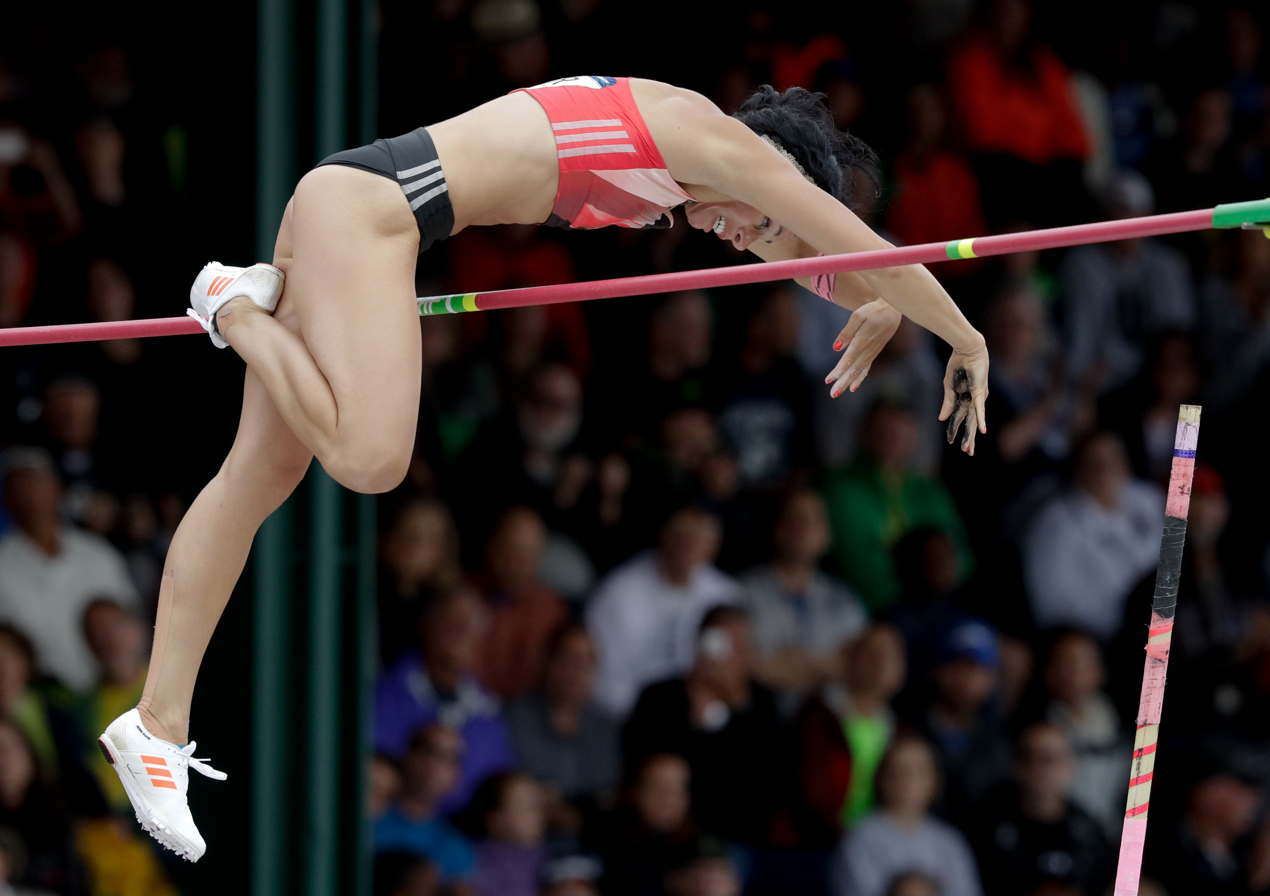 <strong>Jenn Suhr, Track and Field, USA</strong>Suhr won a national title within a year of picking up a pole in 2004. Now, the upstate–New York native goes for back-to-back pole-vault golds.