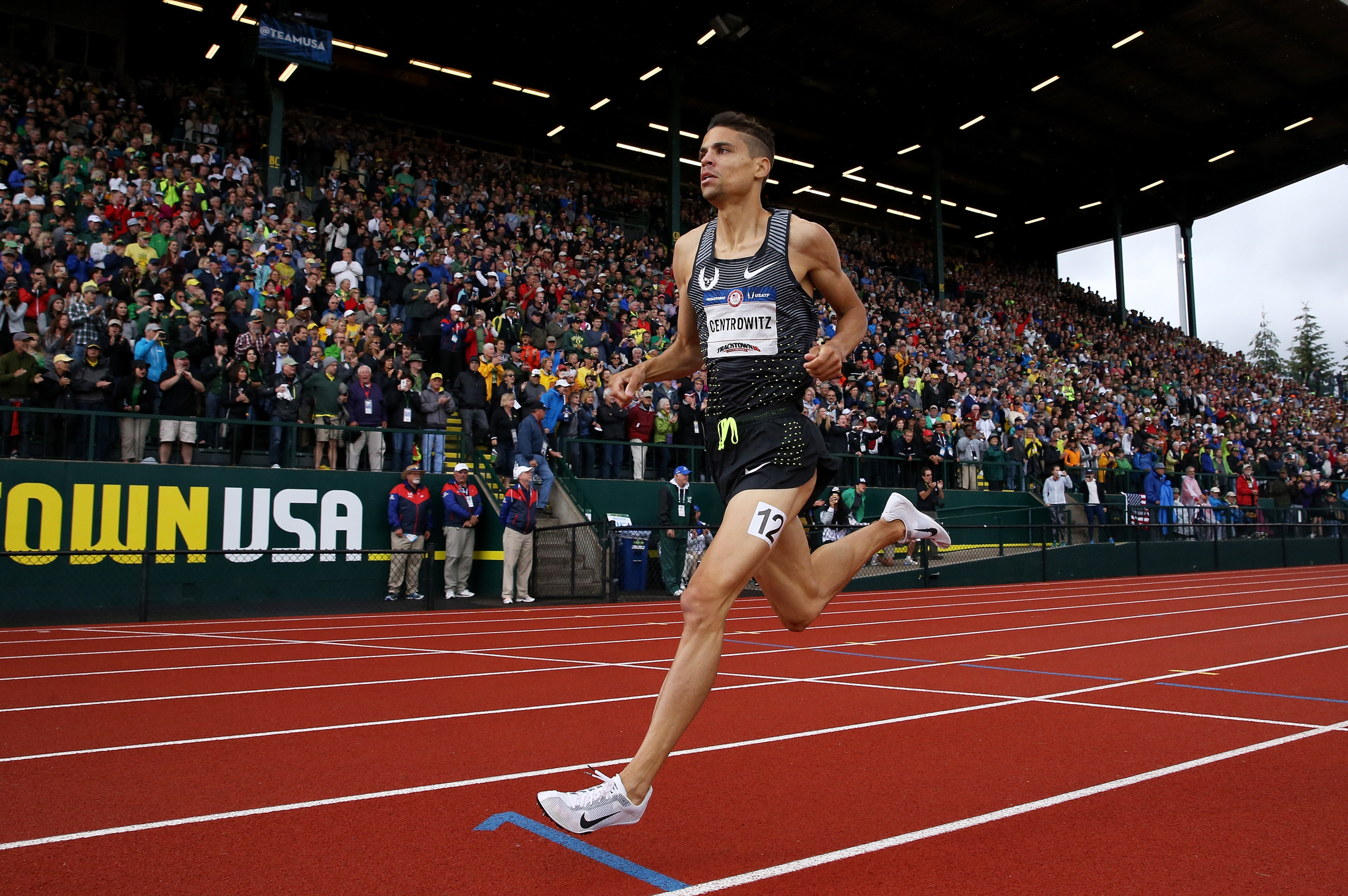 <strong>Matthew Centrowitz, Track and Field, USA</strong>Centrowitz's father Matt Sr. ran for the U.S. at the 1976 Games. Matt Jr. finished fourth in London in 2012 and set an Olympic-trials record this year in the 1,500 m, giving him a shot to medal in Rio.