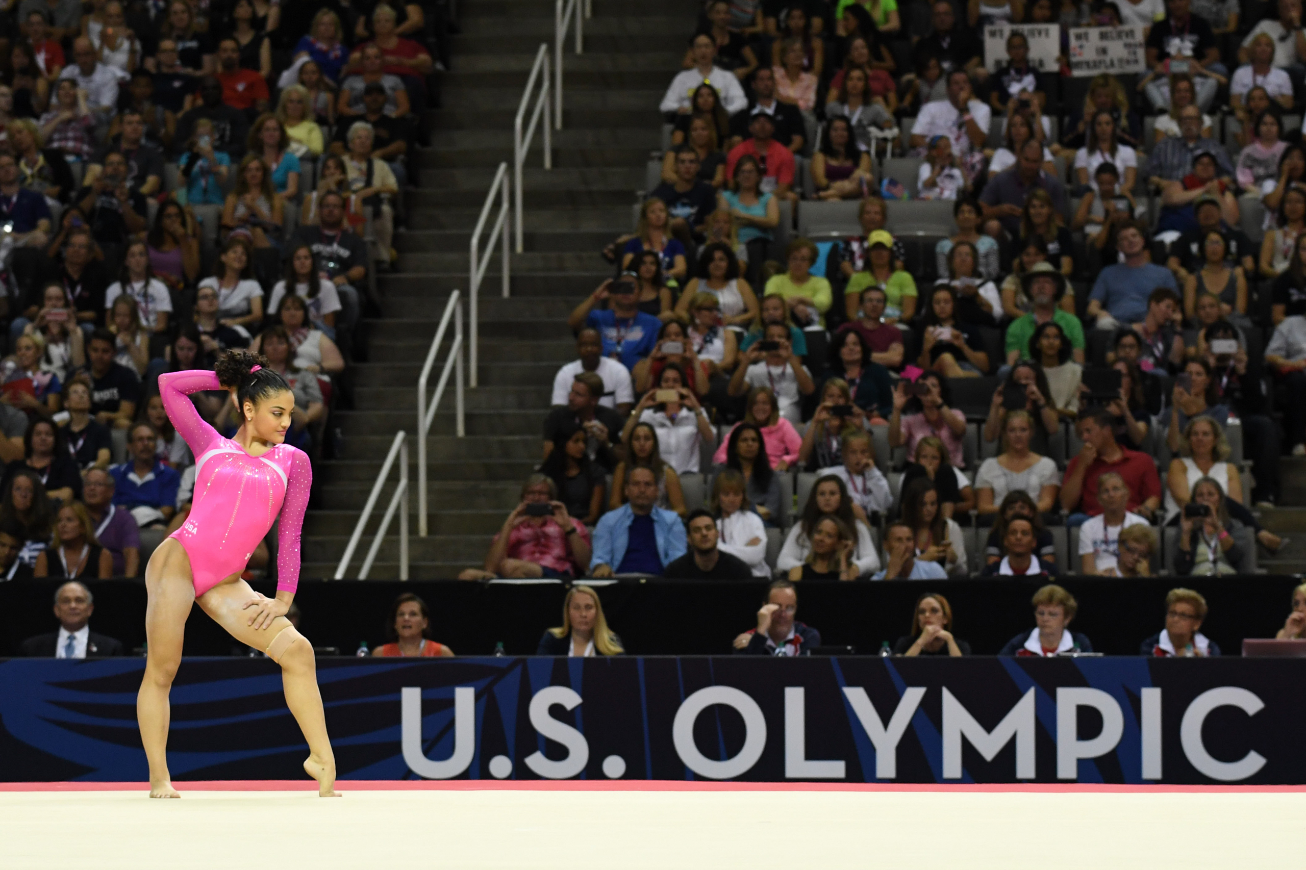 <strong>Laurie Hernandez, Gymnastics, USA</strong>At just 16, the New Jersey native has infectious energy and a floor routine that could put her on the podium next to teammate Simone Biles in the all-around competition.