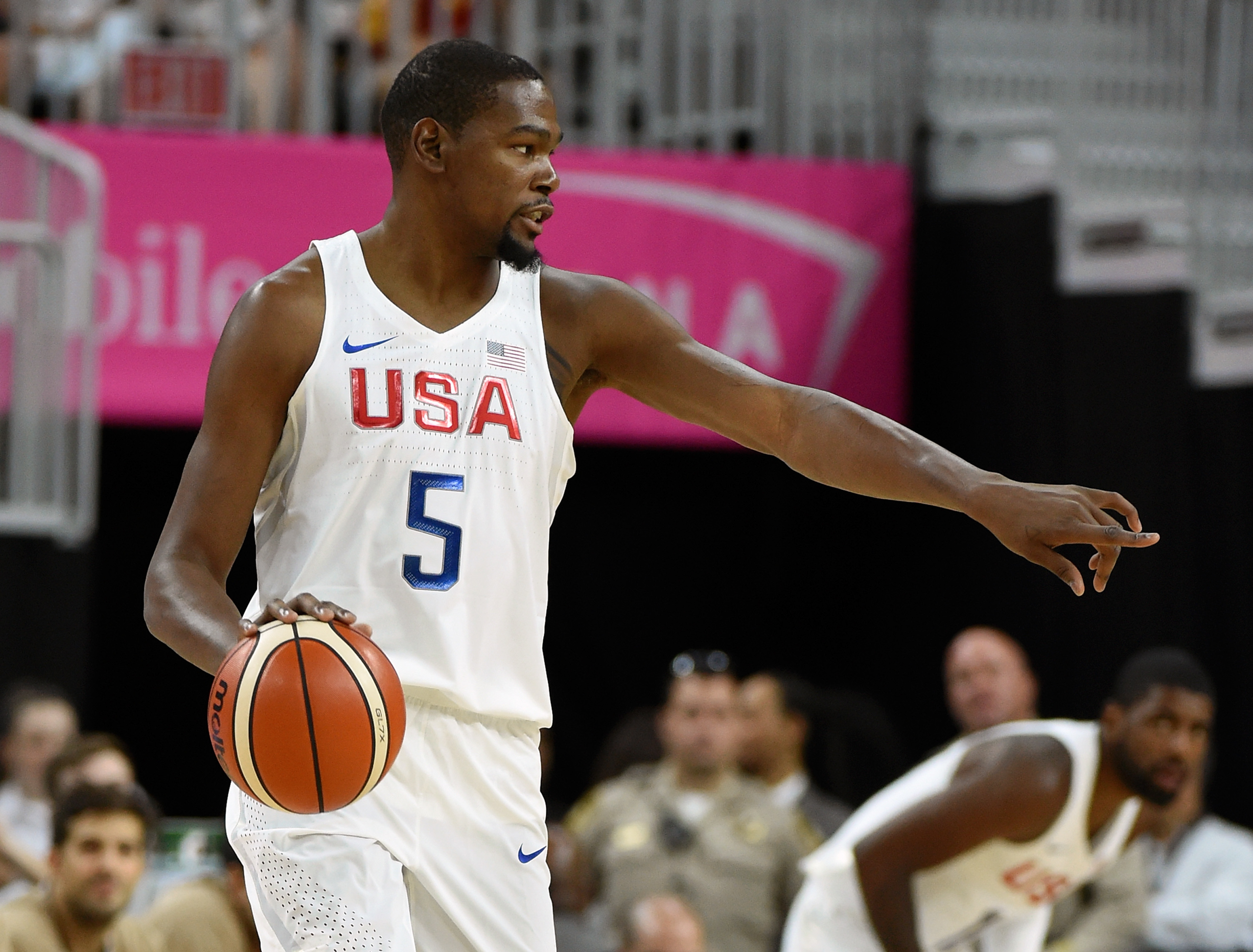 <strong>Kevin Durant, Basketball, USA</strong>Durant is the rare                                    NBA megastar who hasn't bowed out of Rio. With future Golden State teammates Klay Thompson and Draymond Green, he'll try to fend off Pau Gasol–led Spain for the Americans' third straight gold.