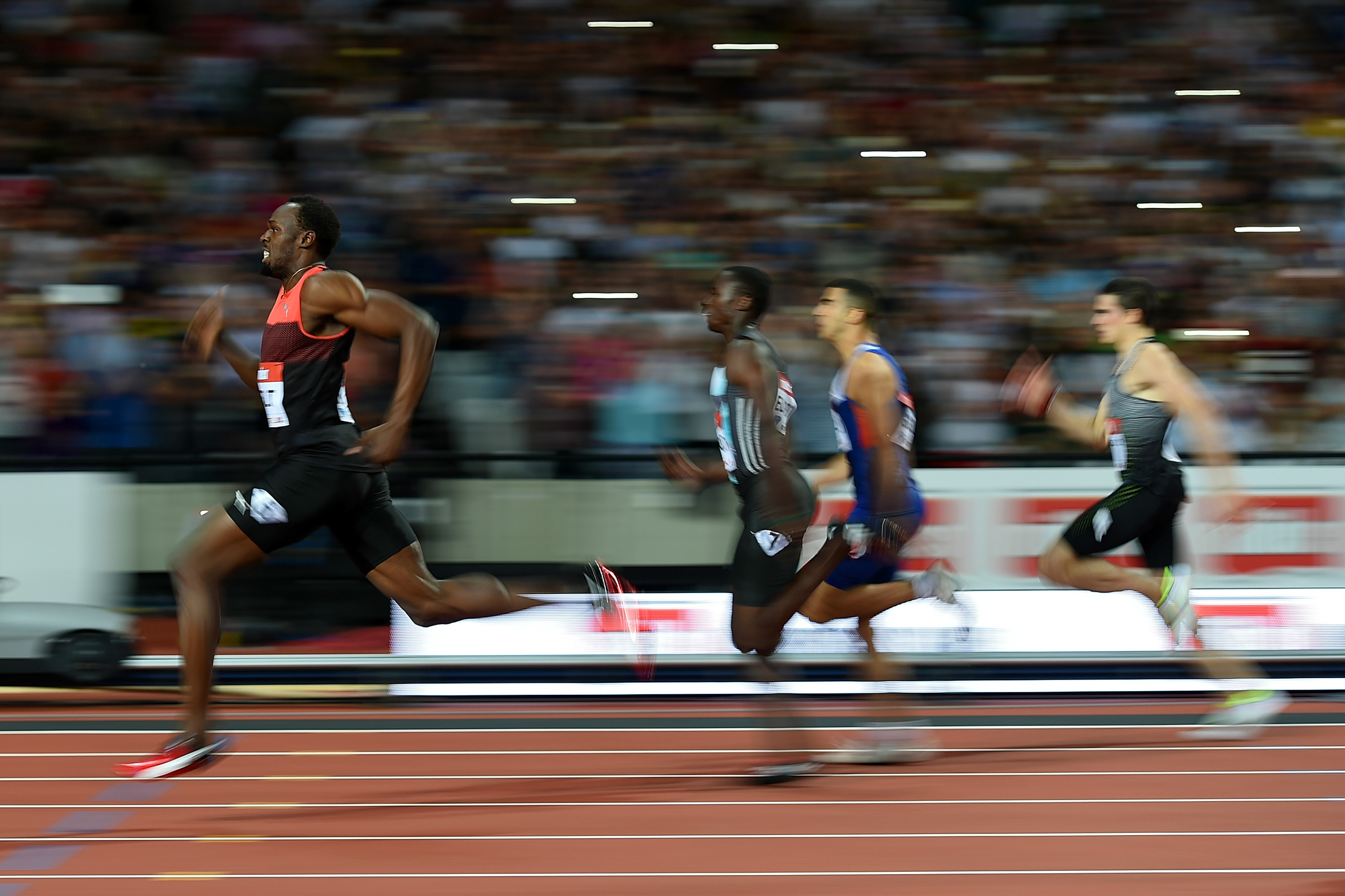 """<strong>Usain Bolt, Track and Field, Jamaica</strong>When Usain Bolt pulled out of the Jamaican trials in July because of a hamstring injury, shudders were felt far beyond the sprinting--obsessed island nation. Since exploding onto the world scene at the 2008 Beijing Olympics, Bolt, who will turn 30 on Aug. 21, has been the most dominant and marketable force in his sport. Could the world's fastest human really miss out on his last Olympics? His rivals, however, knew better. """"Come on, man,"""" said U.S. sprinter Justin Gatlin, Bolt's longtime adversary. """"He's Usain.""""                                   Bolt has made a habit of entering major races with nagging injuries and underwhelming tune-ups, then winning anyway. In Rio, Bolt will shoot for an unprecedented career haul: nine straight Olympic races—the 100 m, 200 m and 4 x 100-m relay in Beijing, London and Rio—nine golds. Enjoy this final run. We'll never see it again. —S.G."""