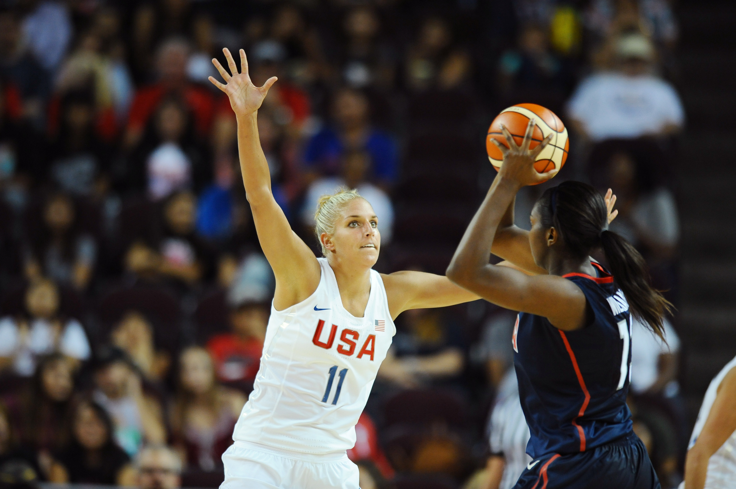 <strong>Elena Delle Donne, Basketball, USA</strong>The 2015 WNBA MVP makes her Olympic debut on a team favored to win its sixth straight gold. In London, Team USA's average margin of victory was 34.4 points.