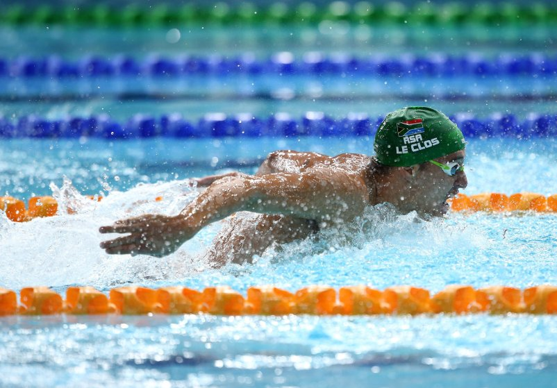 Chad le Clos—He snatched gold from Michael Phelps in the 200-m butterfly in 2012 and is hoping to defend it against his archrival.